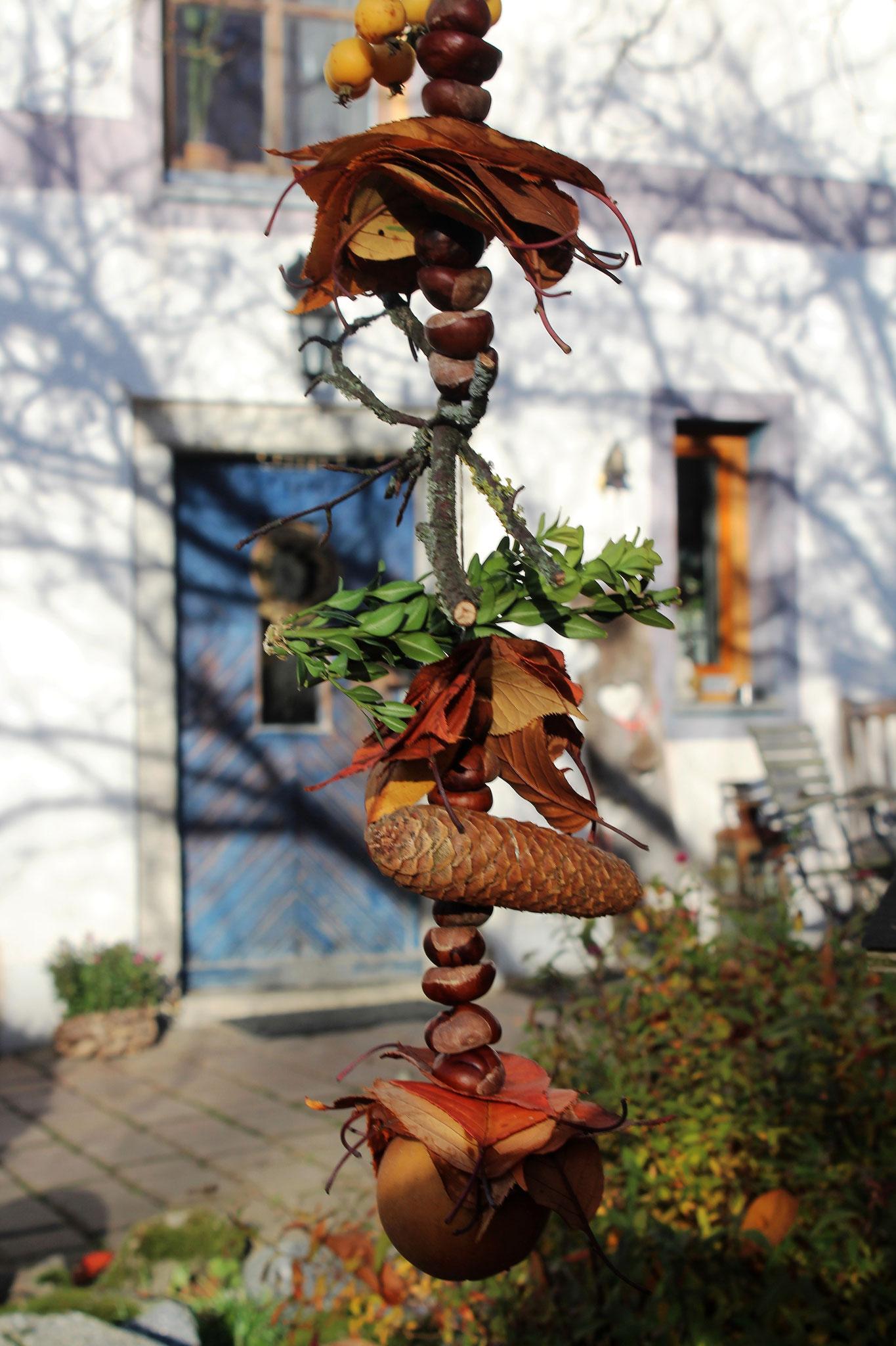 Herbstdeko ©KnallerbsenHof