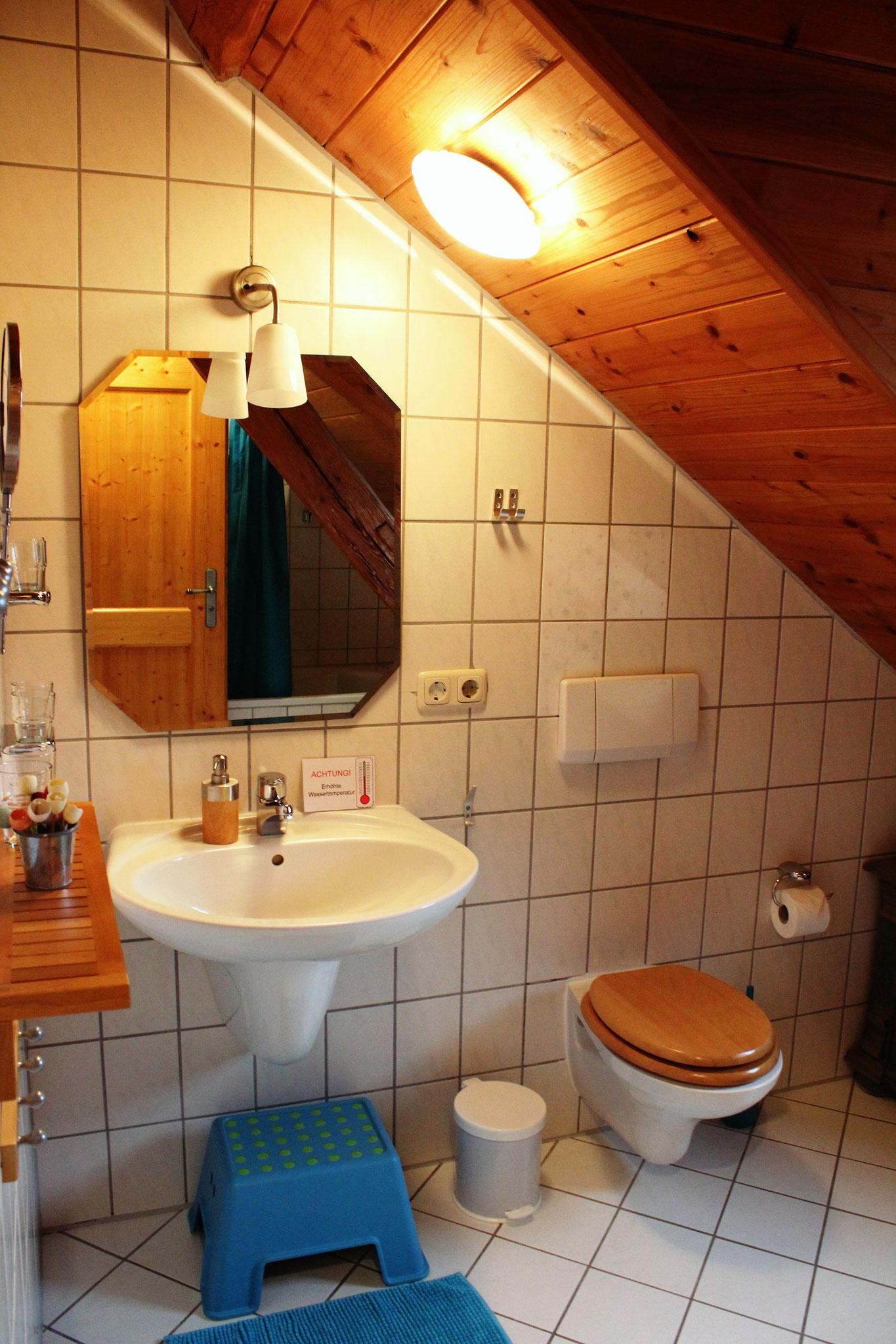 Badezimmer ©KnallerbsenHof
