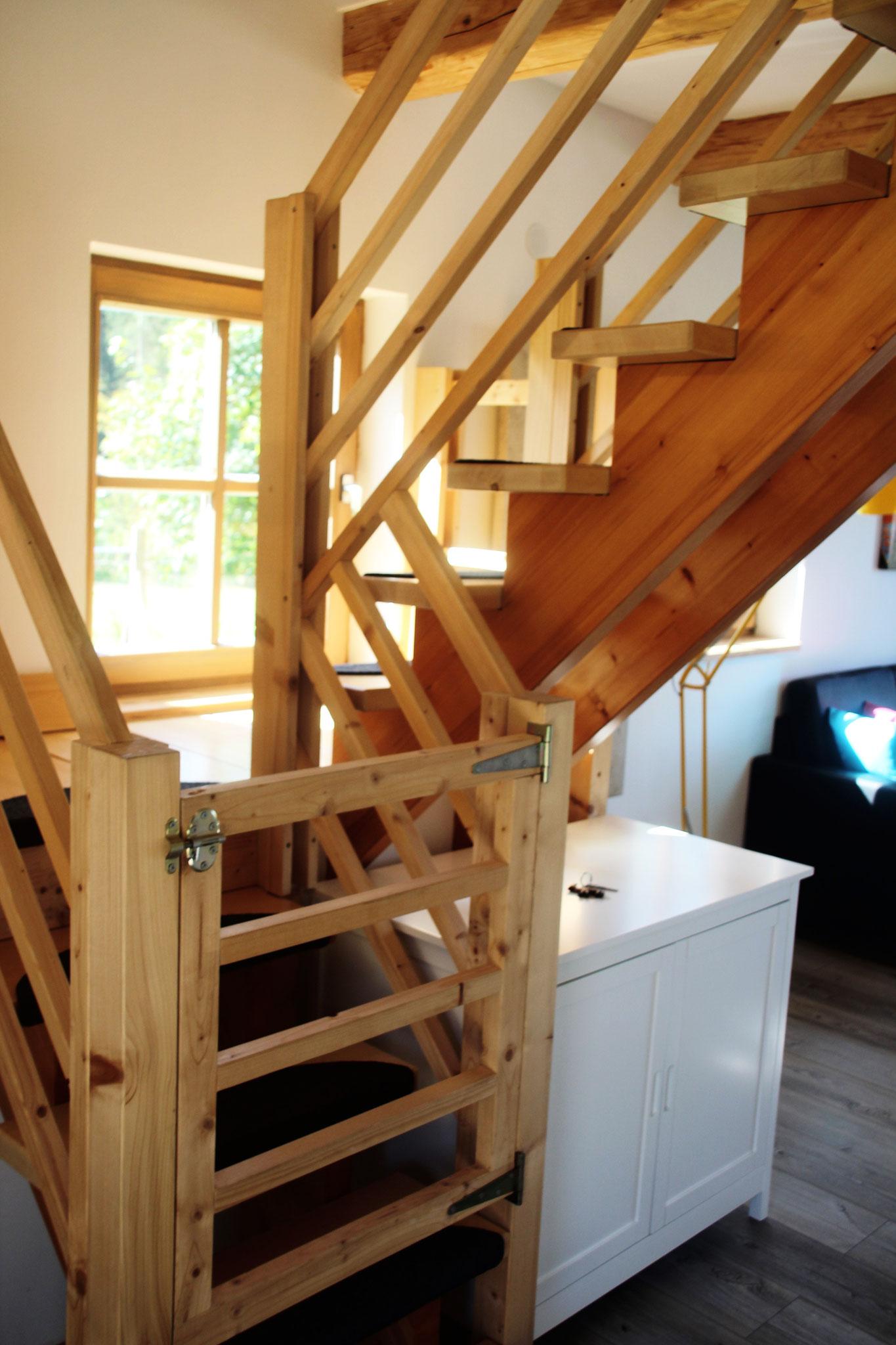 Treppensicherung ©KnallerbsenHof
