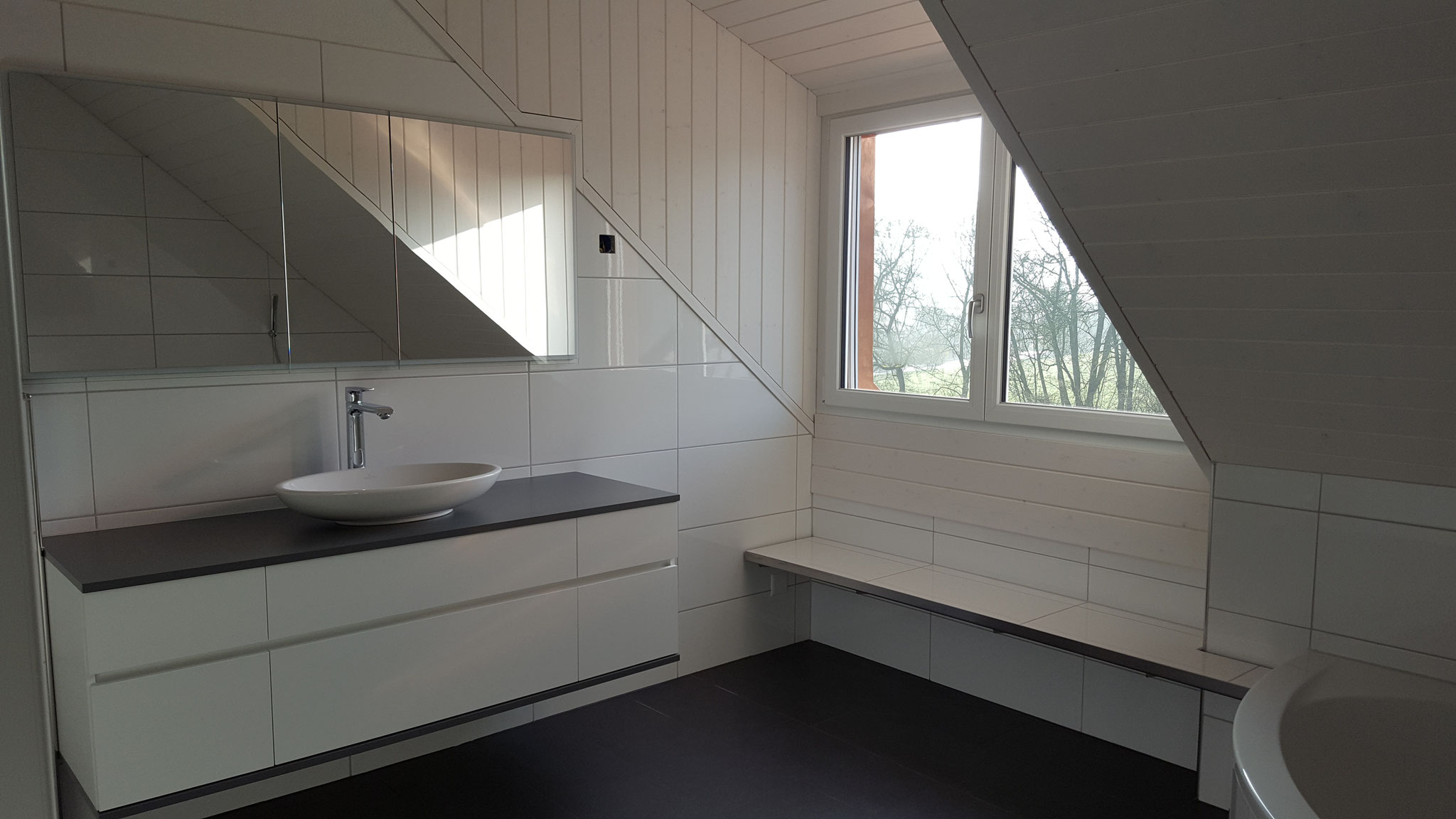 Badezimmer 4.5 Zimmer Wohnung