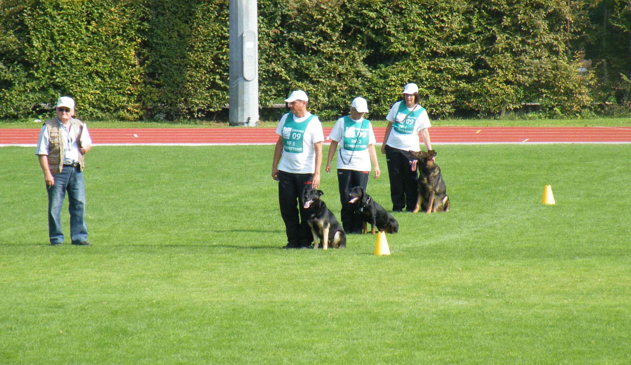 FCI Team WM 2010; Italien