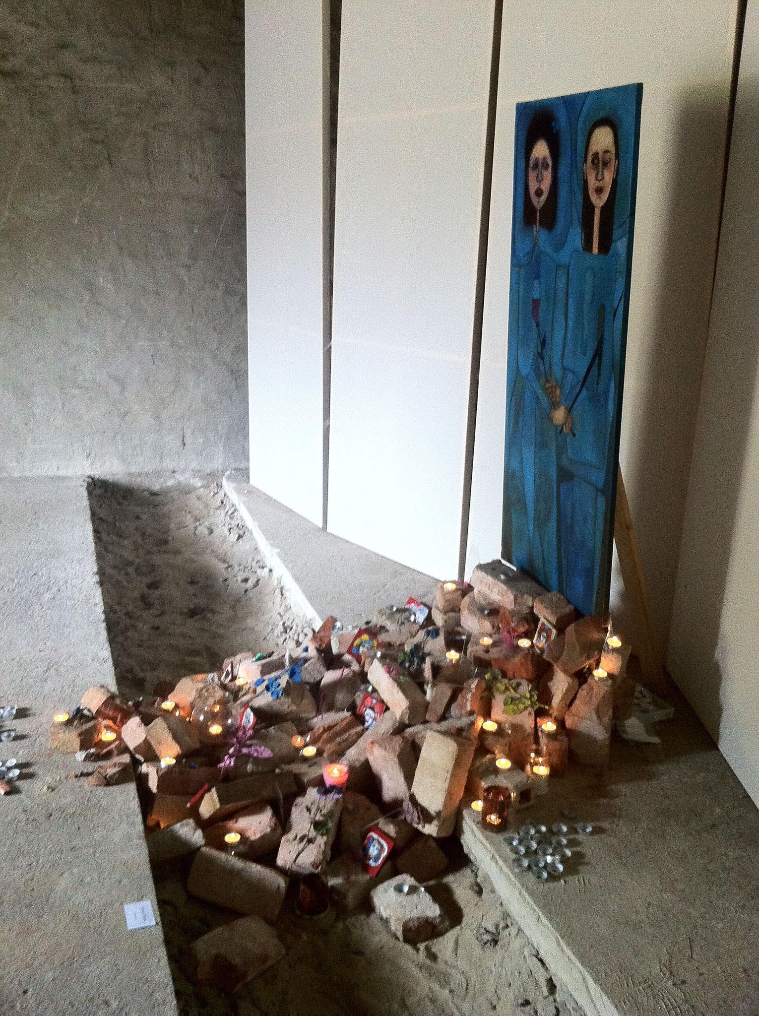 Ausstellung Dilemma. Steinfurth 2017