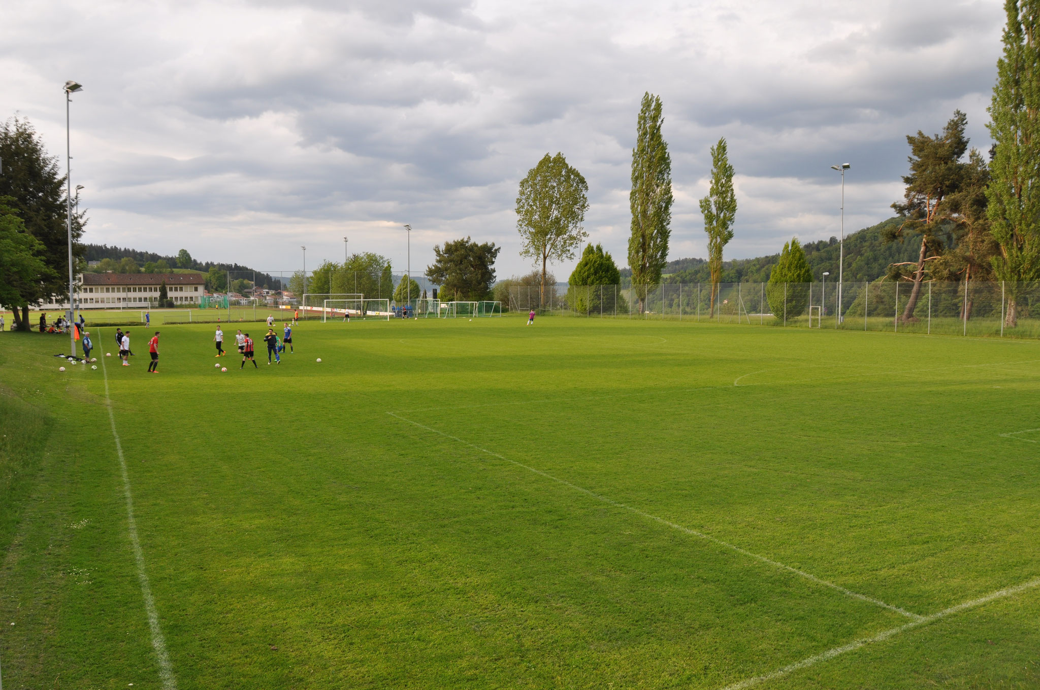 Spielfeld Hallenbad