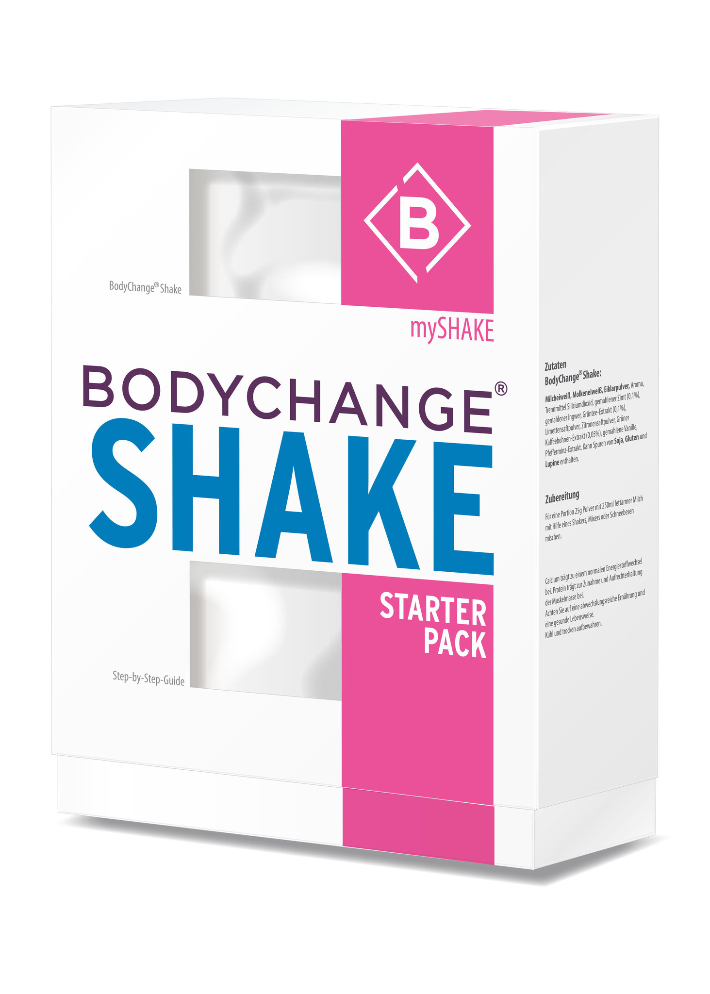 BodyChange_Designentwiclung Packaging Gesamtsortiment