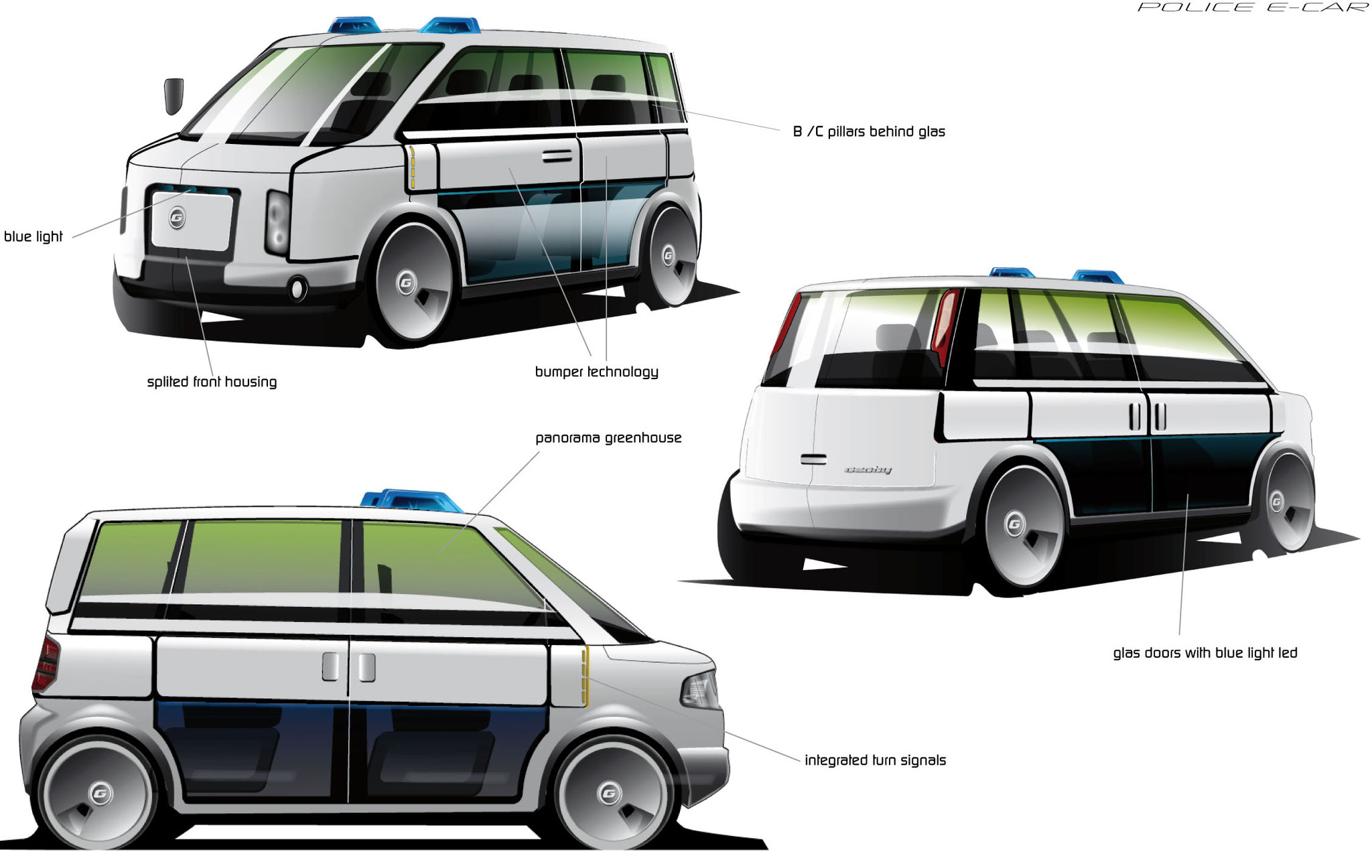 Geoby_Studie ePolice Car