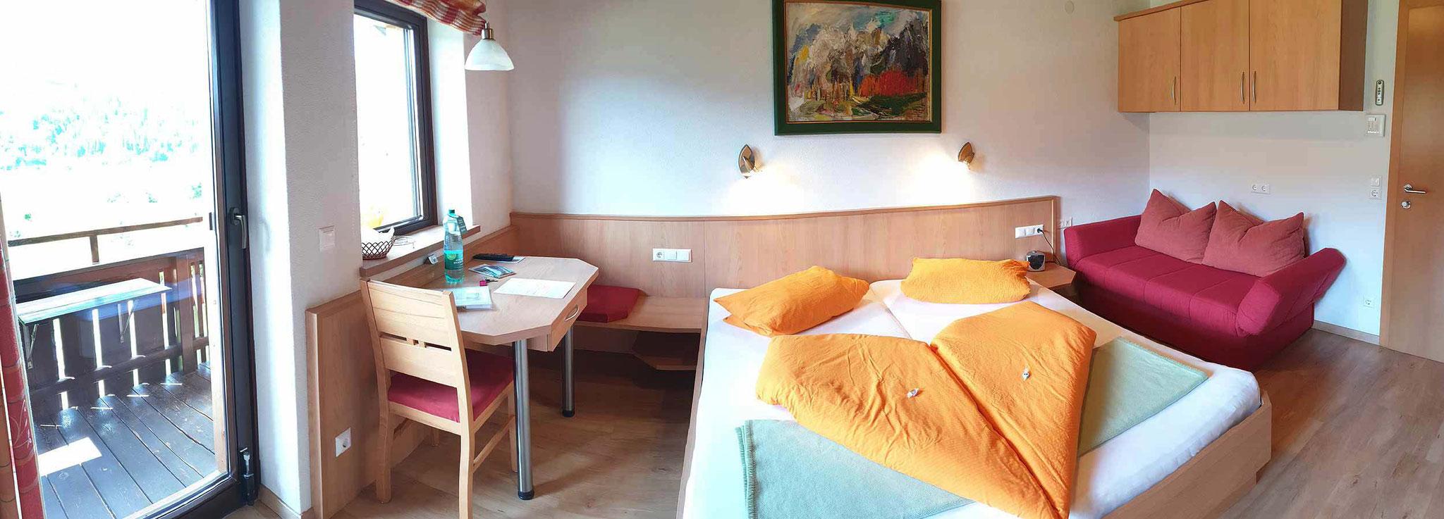 Schlafzimmer 2 für maximal 3 Personen