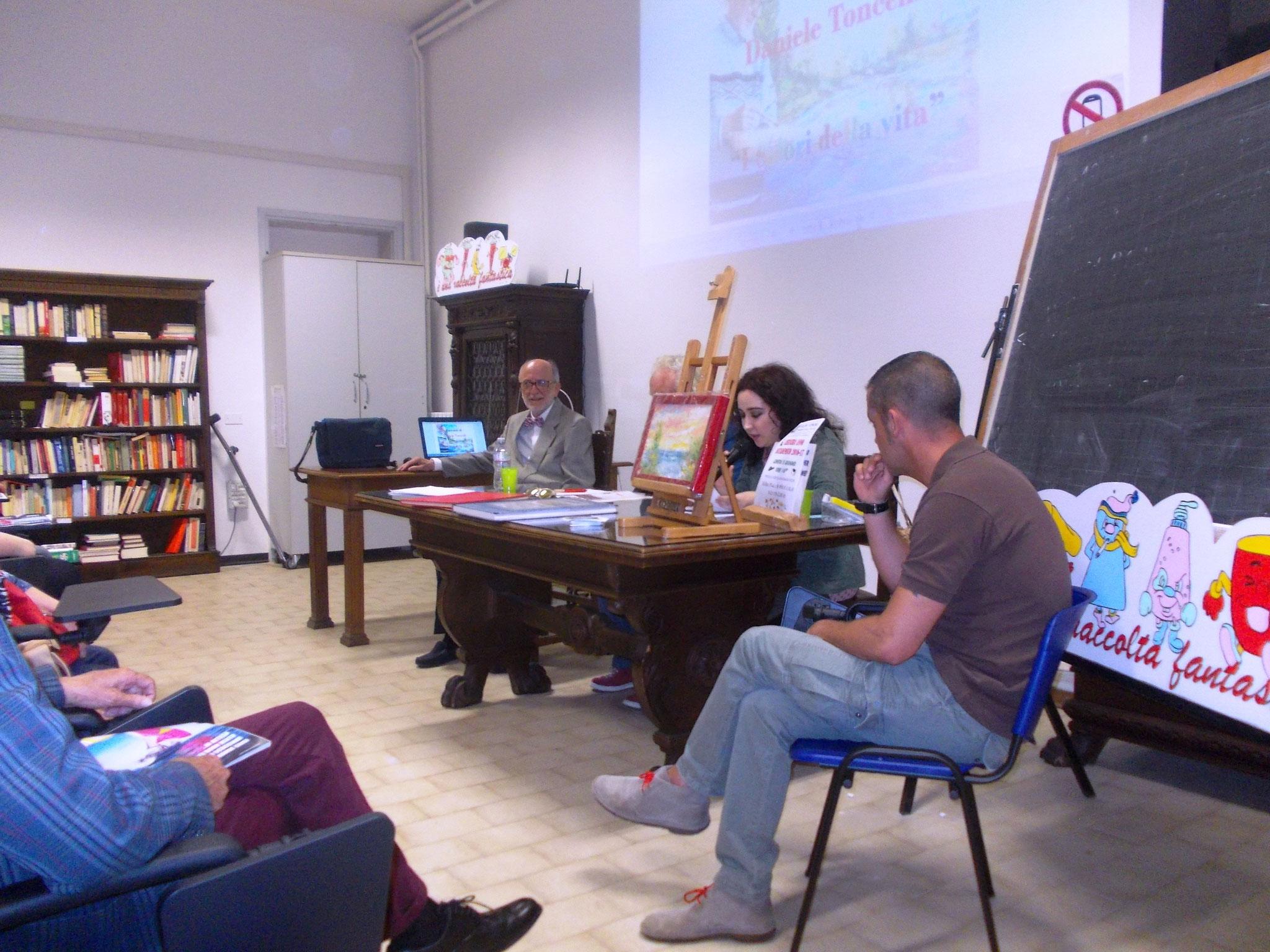 LA GIORNALISTA FRANCESCA GHIRIBELLI INTRODUCE IL PERCORSO ARTISTICO DEL PITTORE TONCELLI