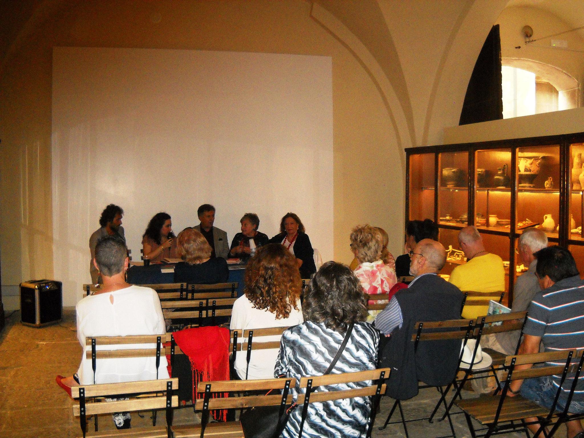 Sala Conferenze Museo Etrusco Collezione Gasparri di Populonia
