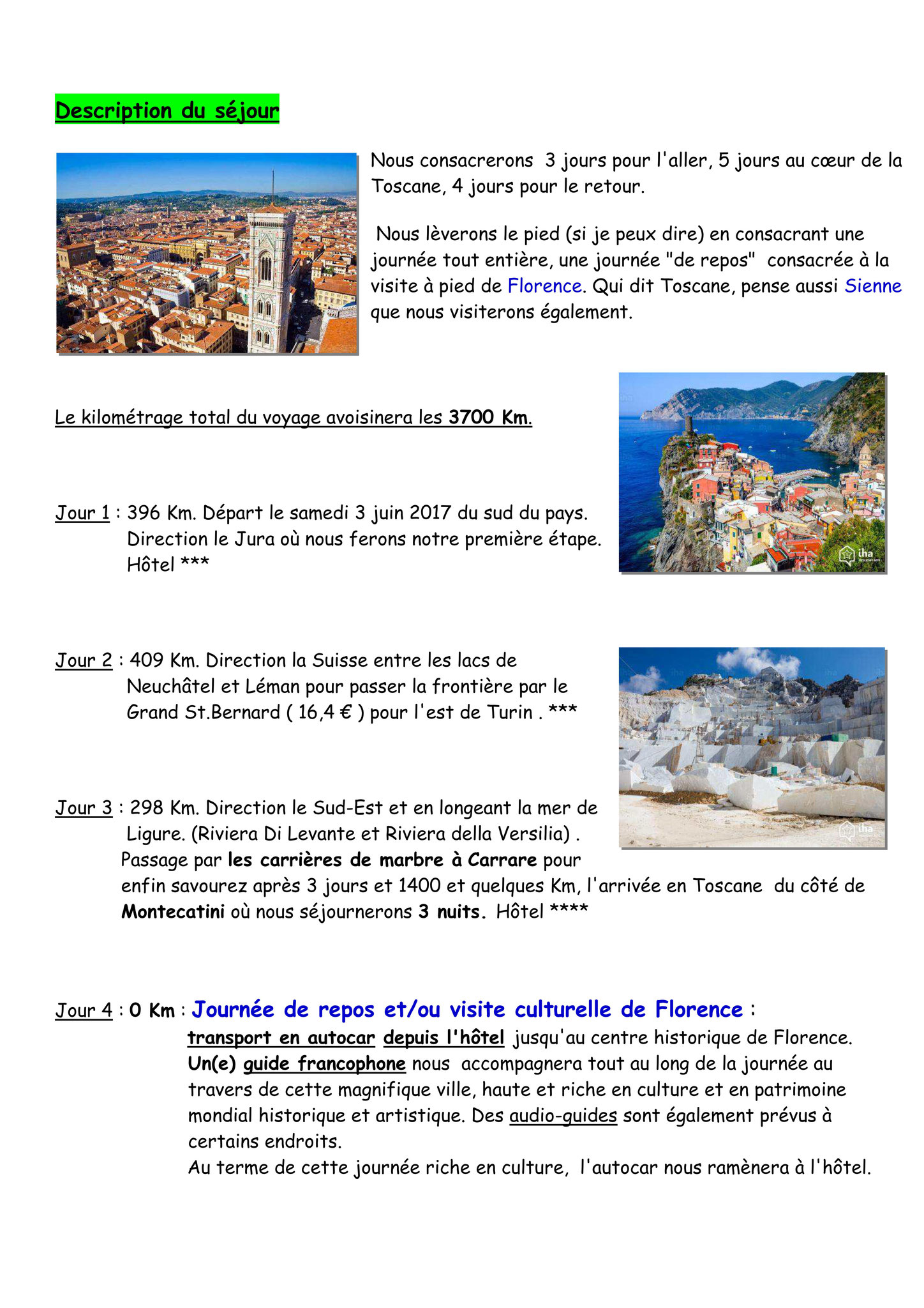 Invitation Toscane page 3