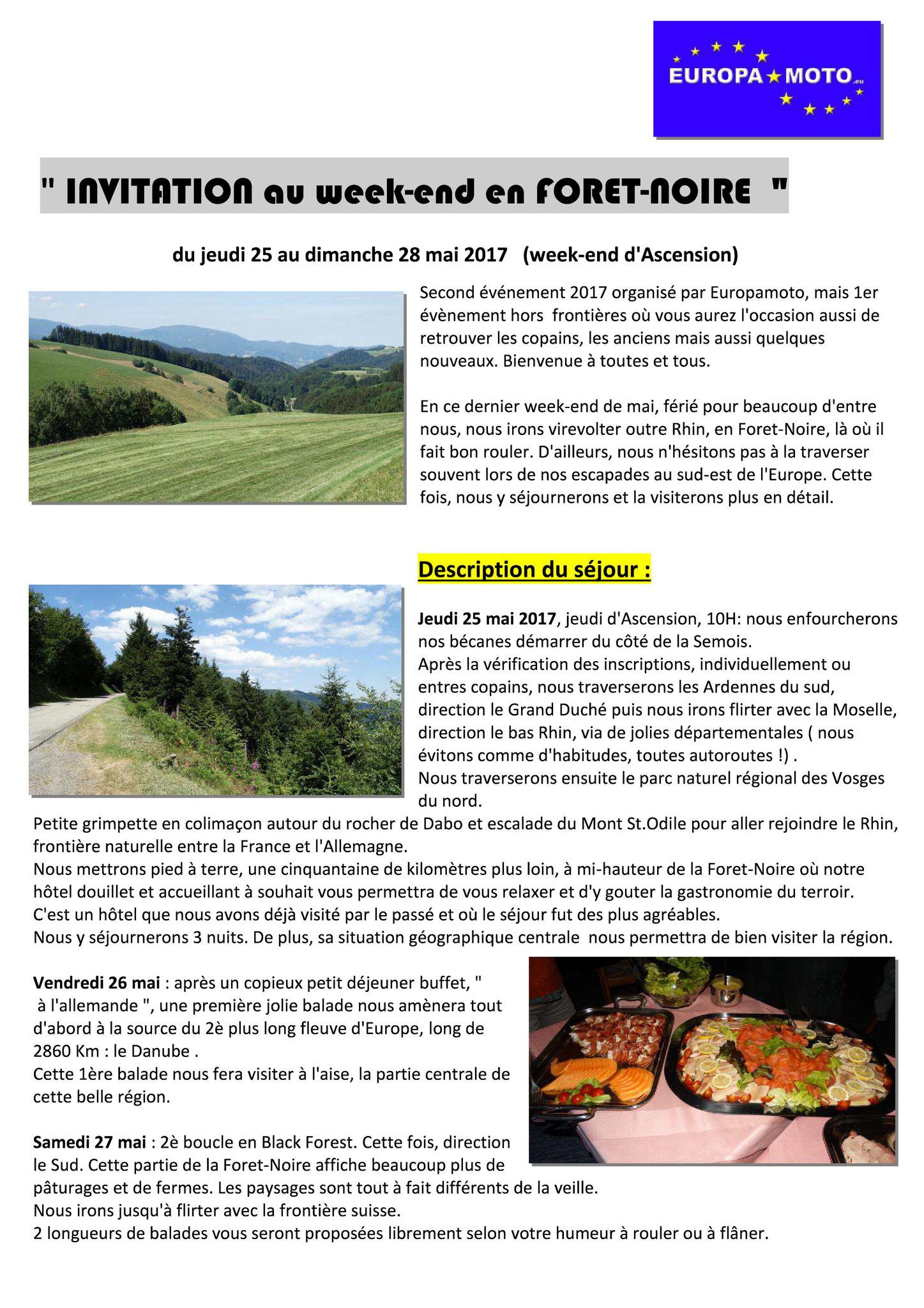 Invitation FORET-NOIRE page 1