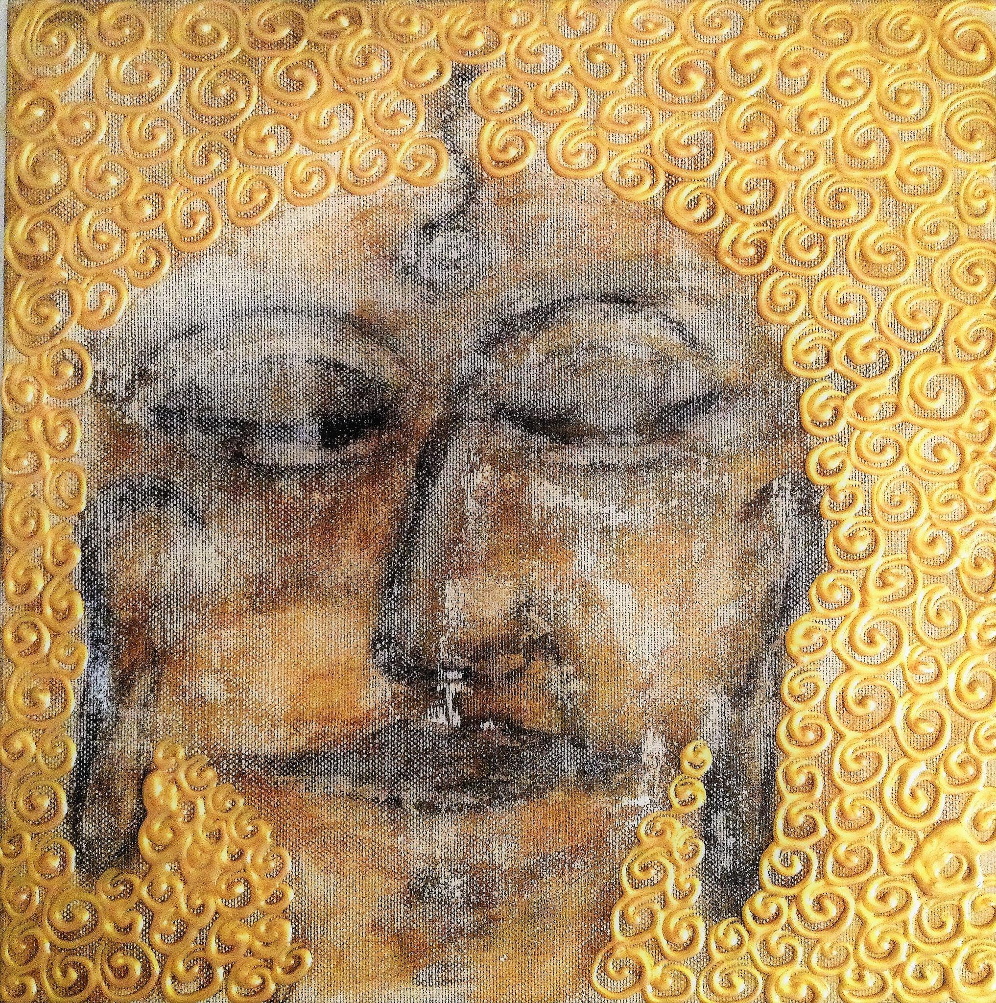 """""""Bodhisattva"""" 30x30, 230.-"""