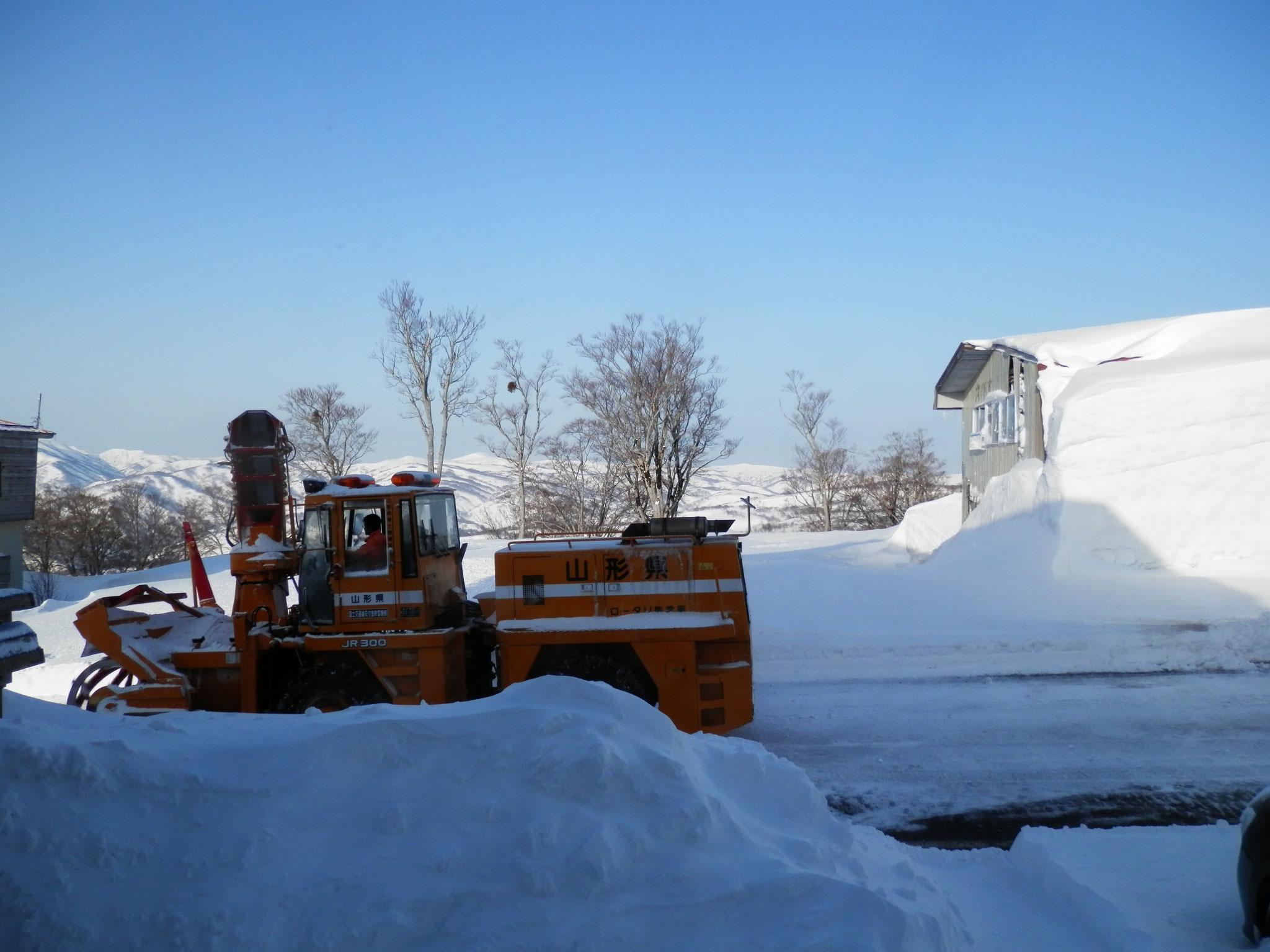 早朝から除雪作業お疲れ様です!