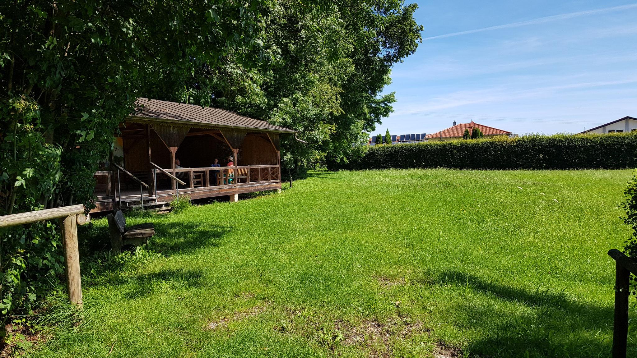 Außengelände und vielleicht sogar Außenbühne von Kloster Armstorf