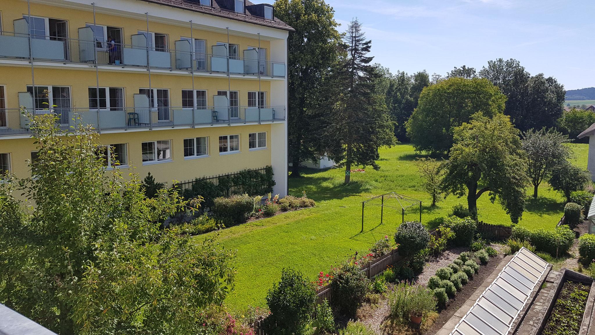 Das Gästehaus in Kloster Armstorf