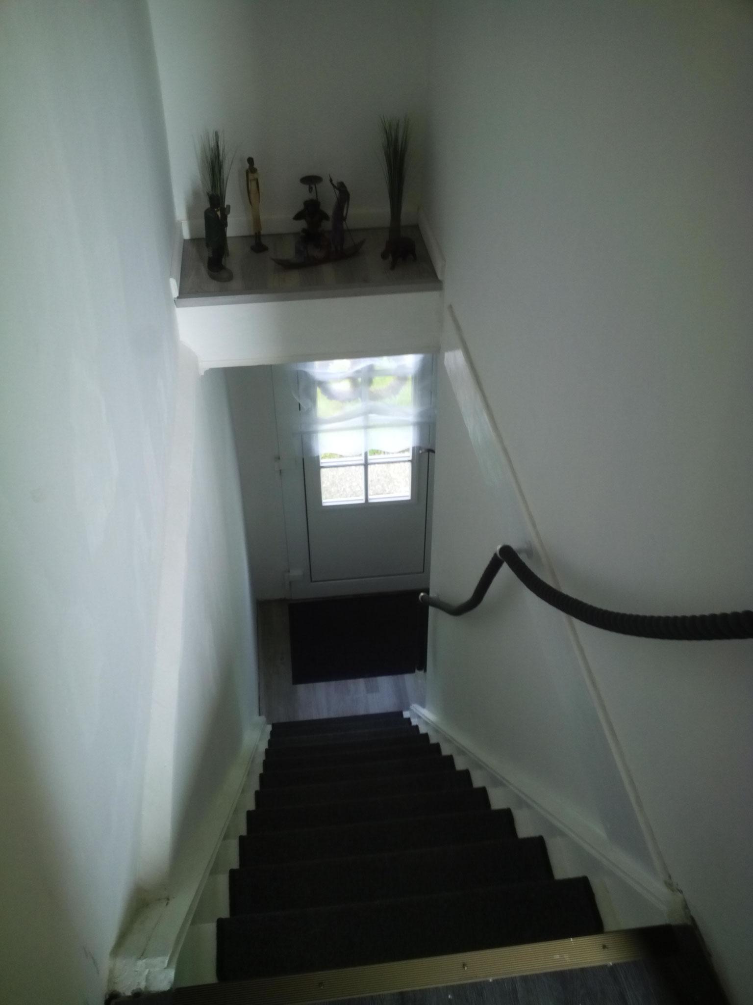 Treppe nach Fertigstellung