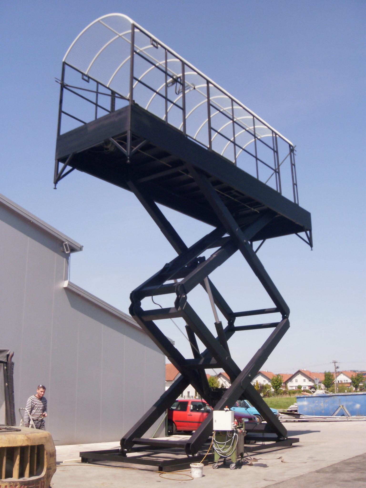 7 Tonnen Hubkraft