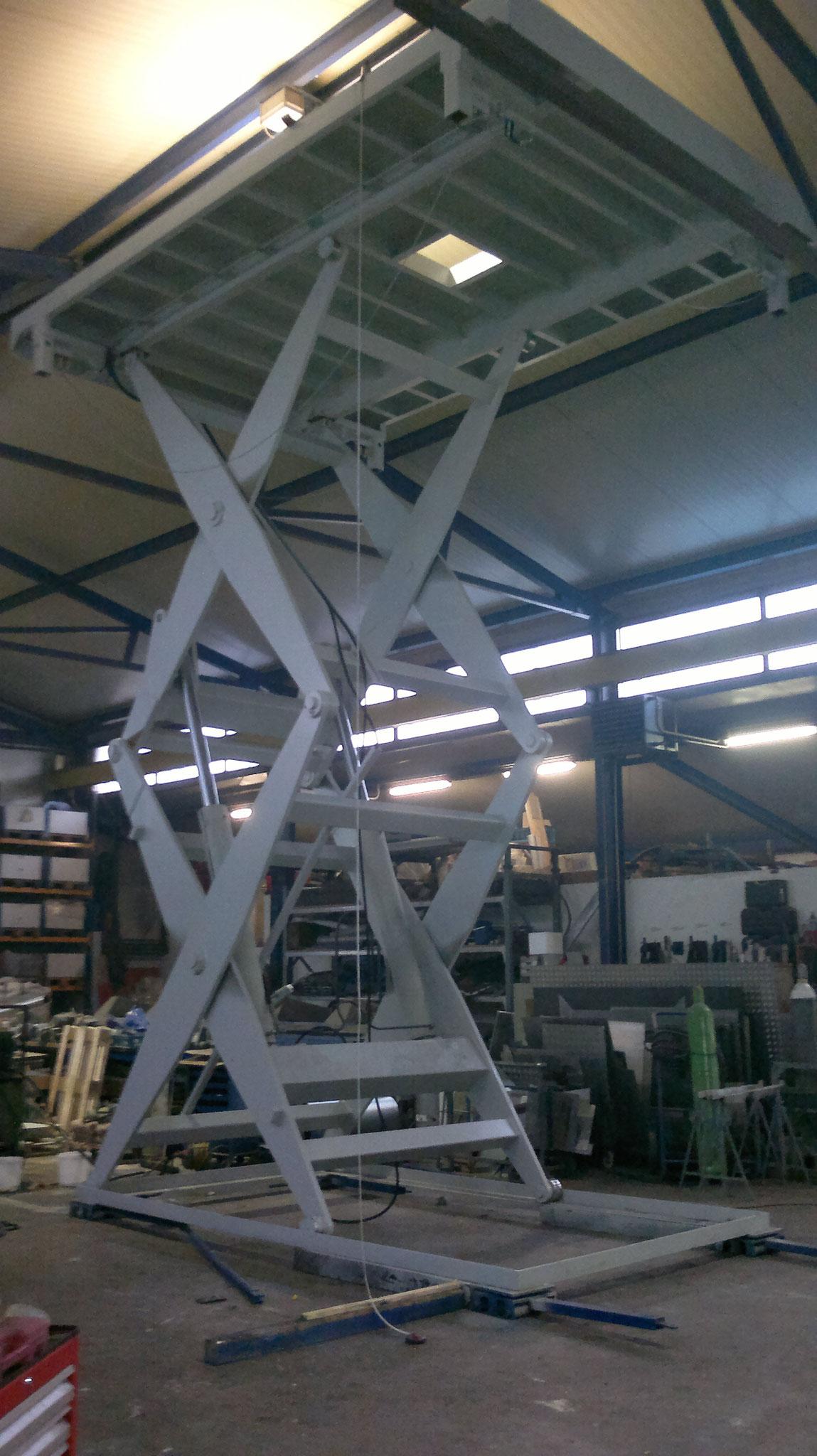 6 Tonnen Hubkraft