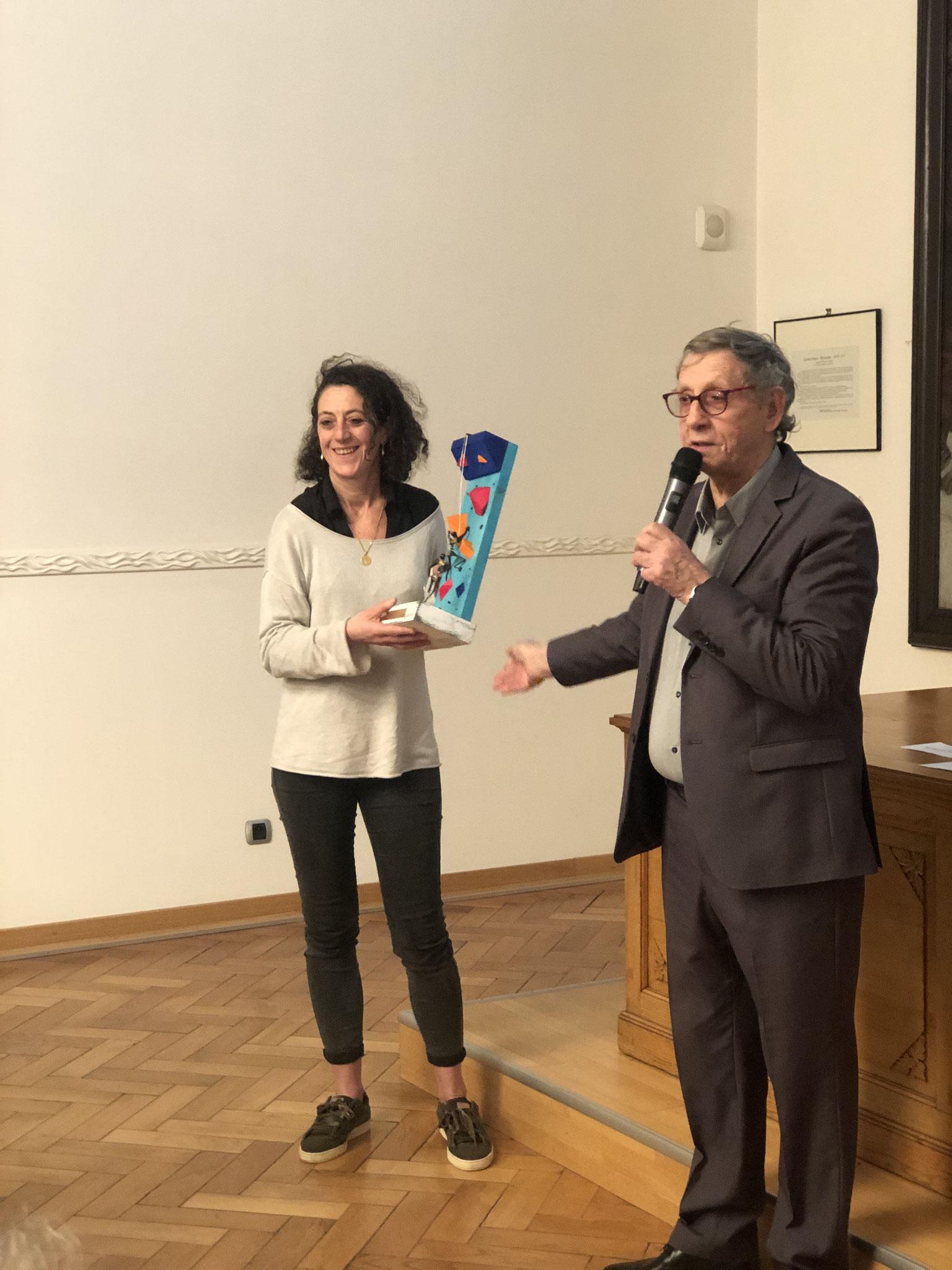 """""""Coup de Coeur du Jury"""" Pascale LANFRANCHI  - Club Escalade de Beauvais"""