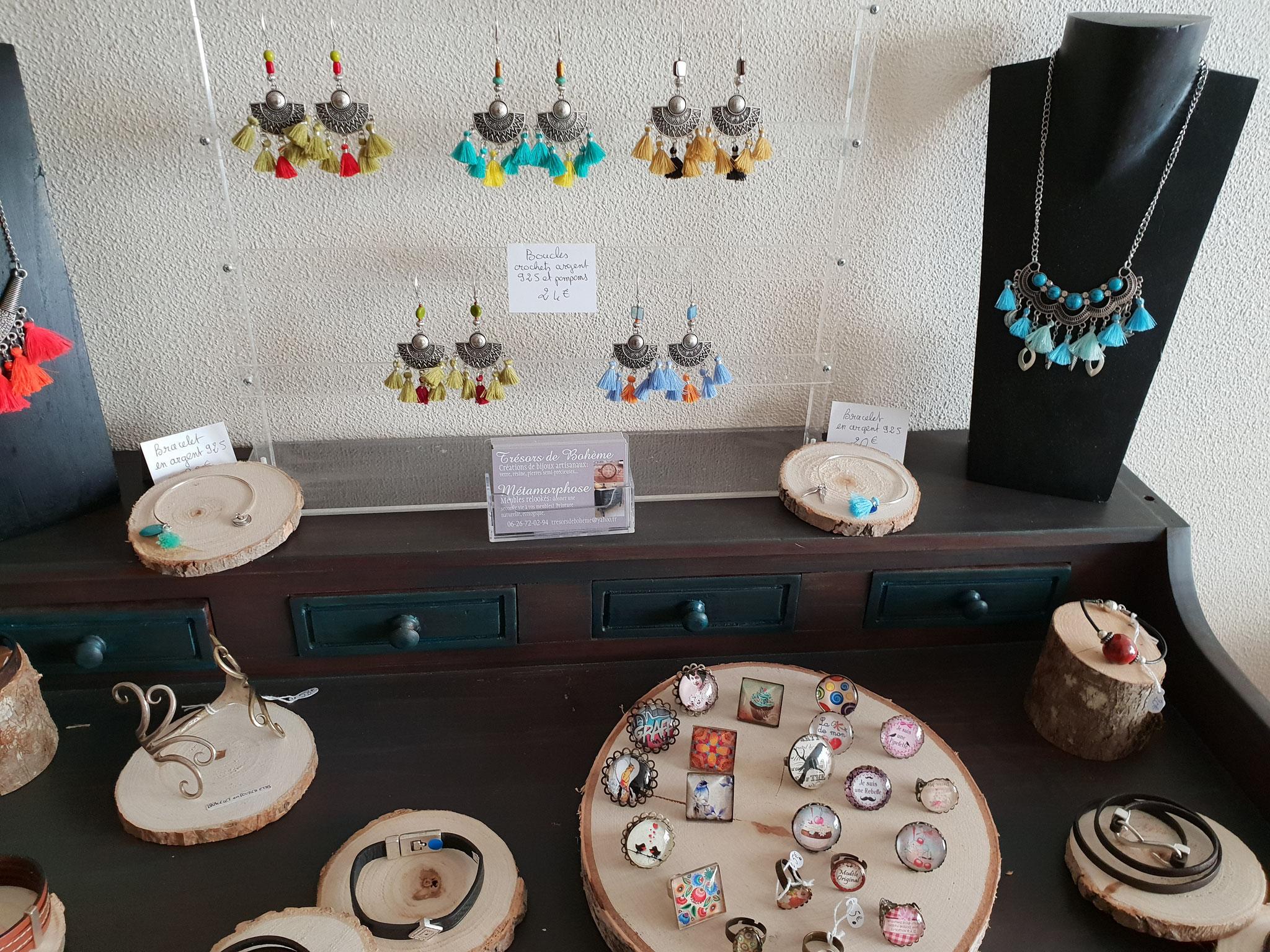 création de bijoux artisanaux Trésors de Bohème