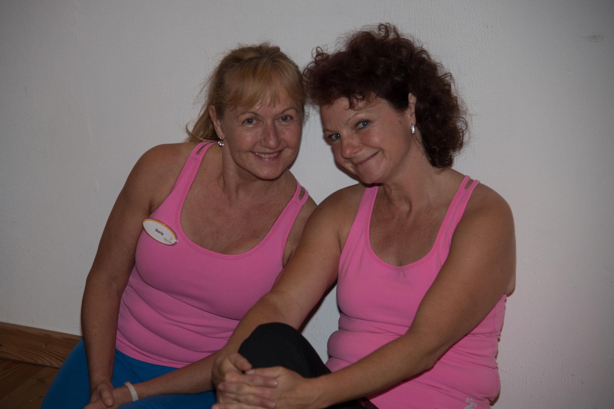 Trainerinnen Doris und Manuela Entspannung Energie tanken
