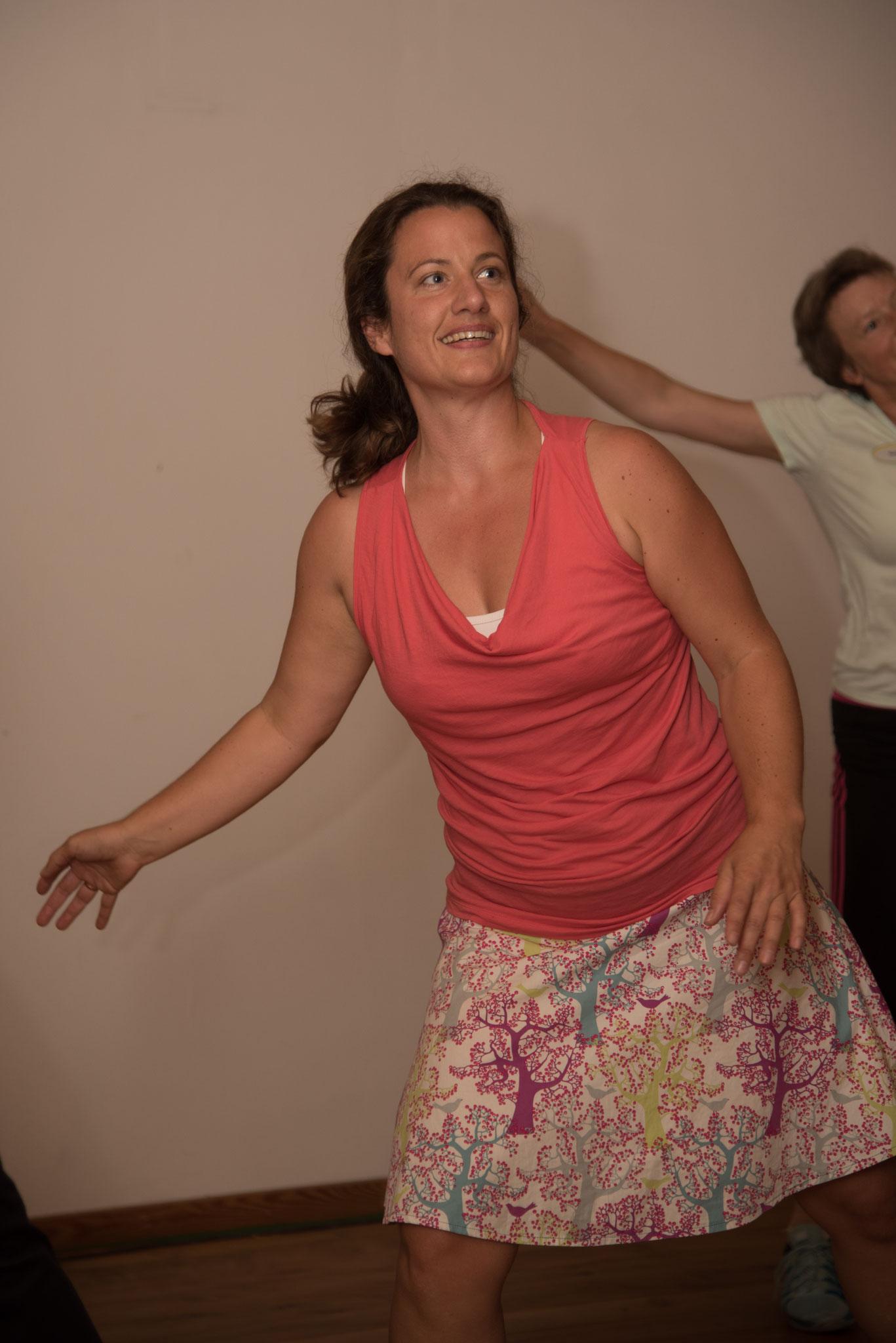 Glückliche Gesichter beim Energy Dance®