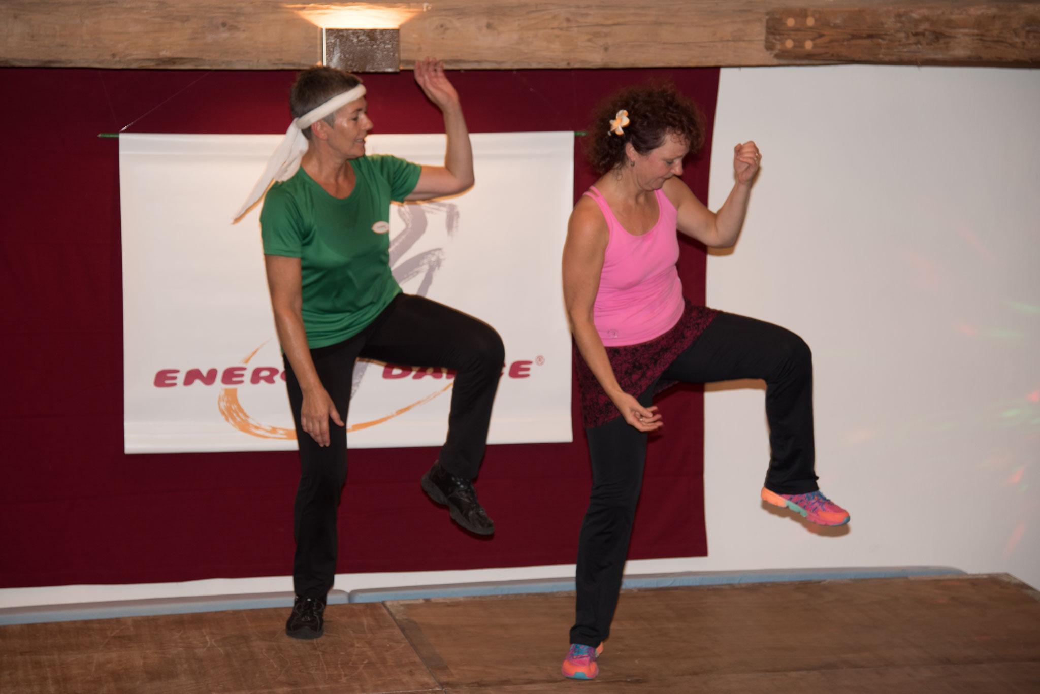 Energy Dance® ist auch Energiearbeit. z.B. Kurs Waldenburg Eurogymnasium