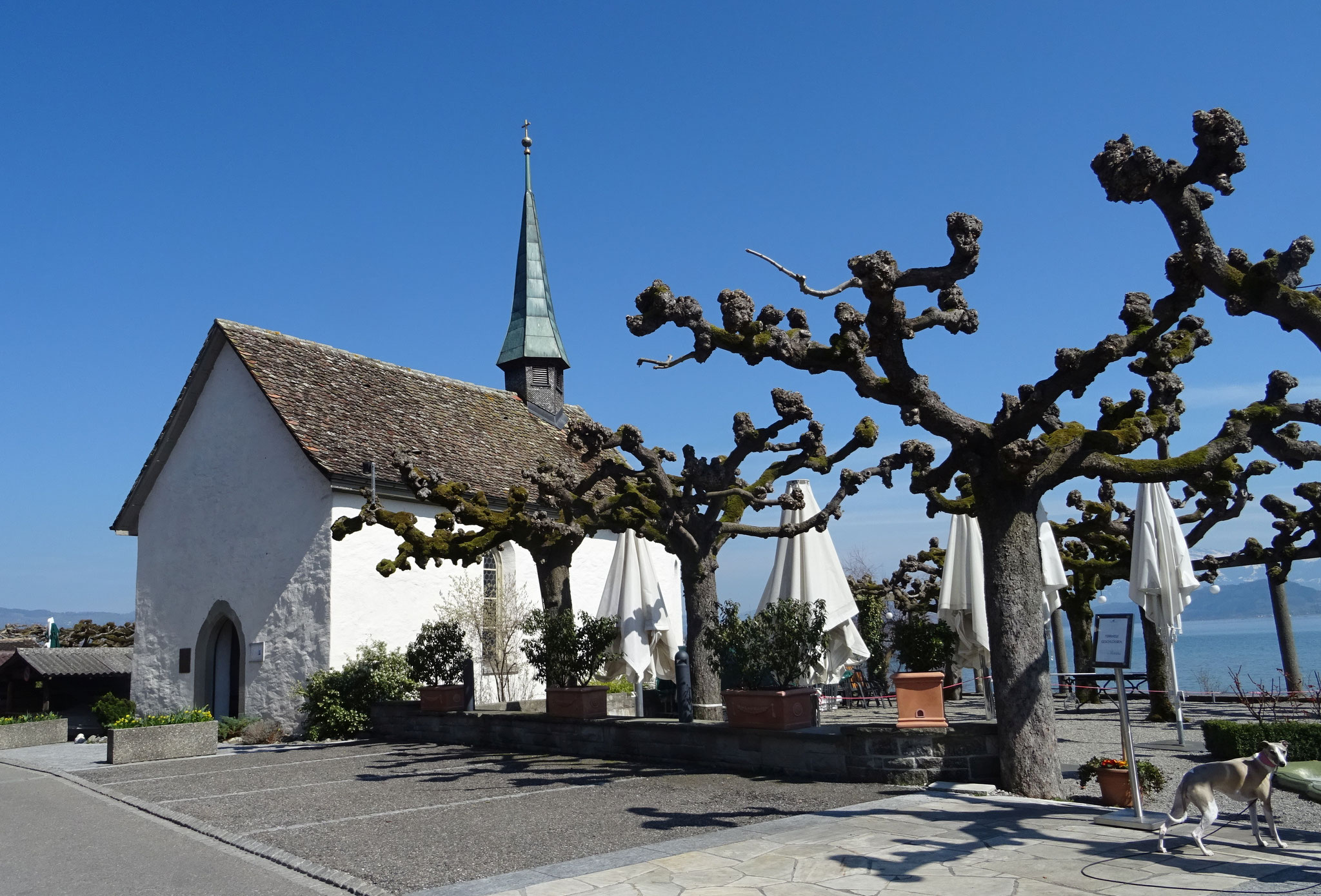 Hurnen, wo die alten Weinfelder zum ersten Mal übernachteten