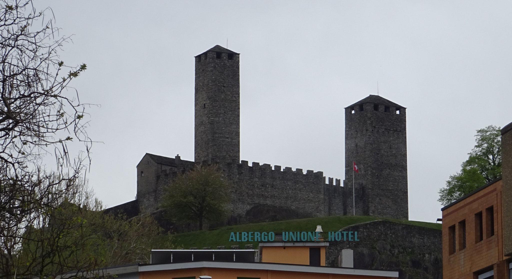 Castelgrande in Bellinzona