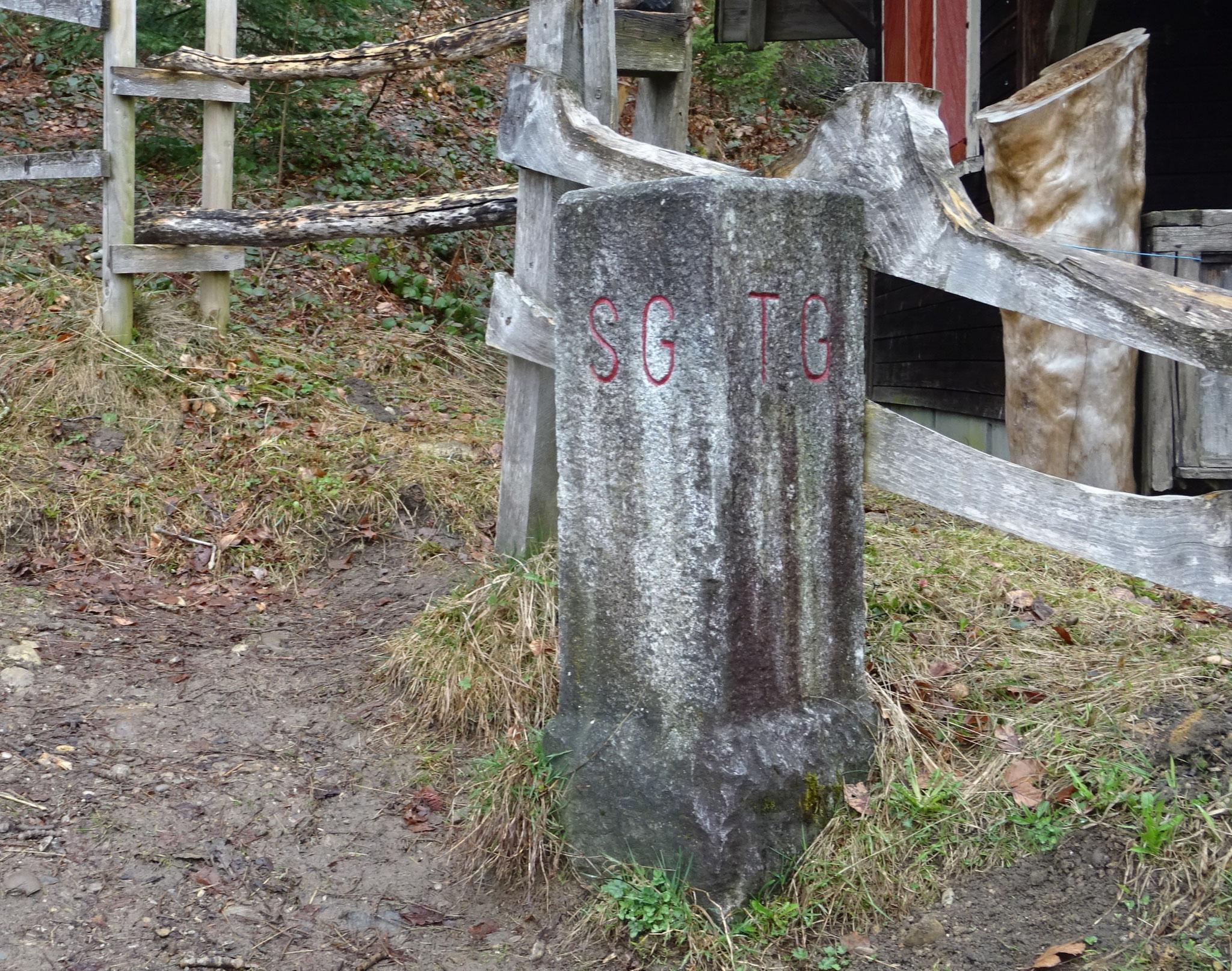 der Dreiländerstein