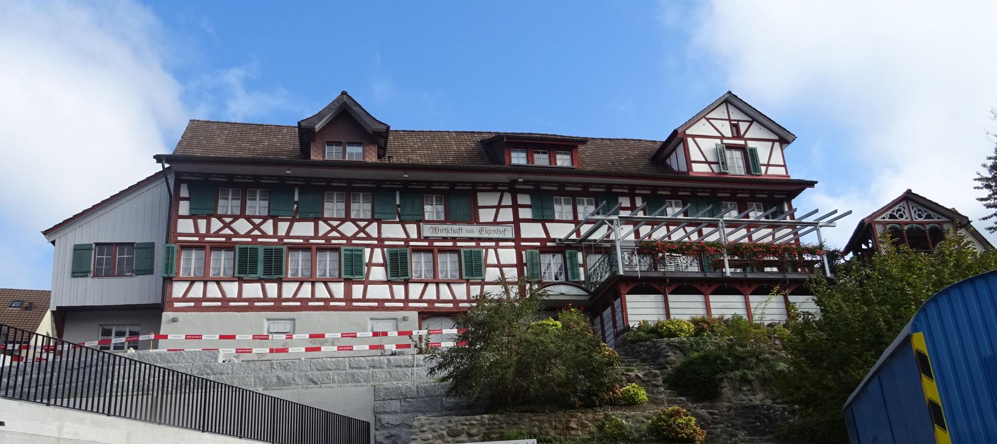 der Eigenhof, erste alamannische Siedlung in Weinfelden