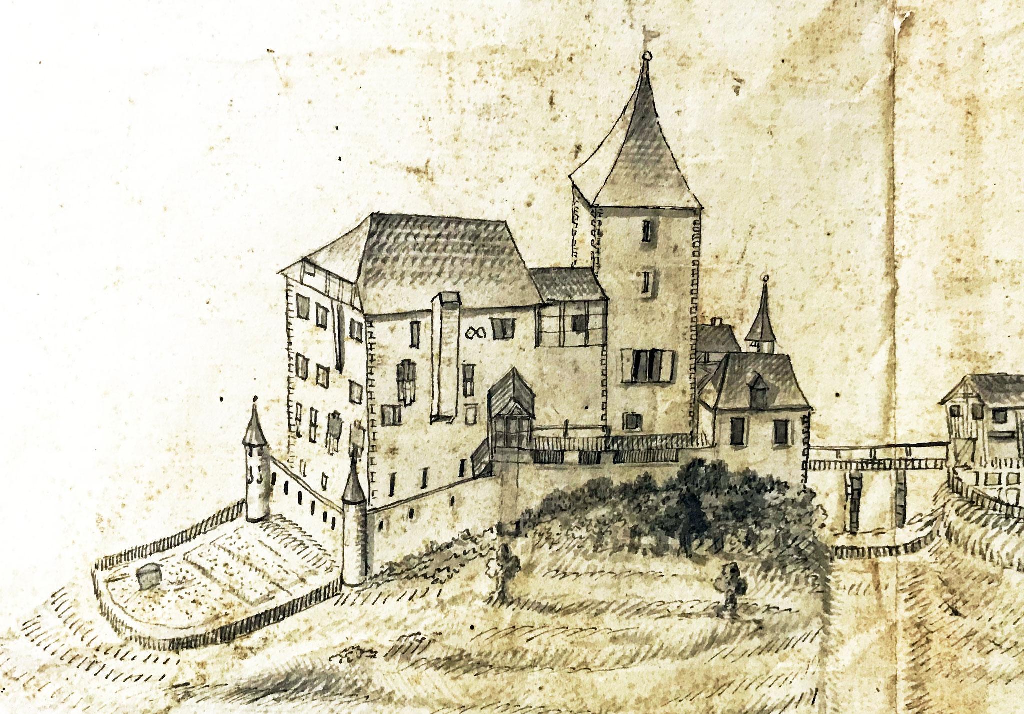 1695; Zehntenplan