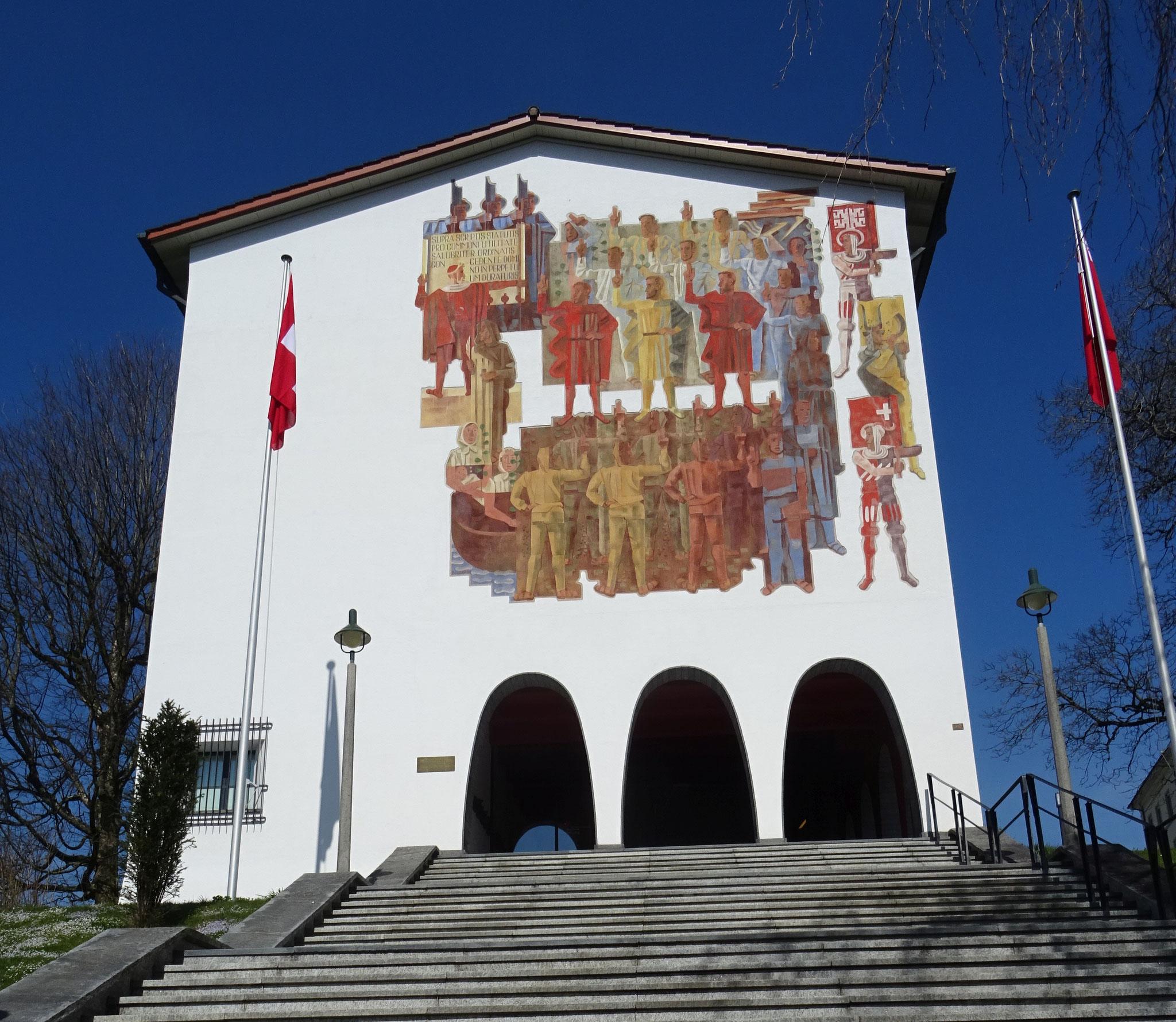das Bundesbrief-Archiv in Schwyz