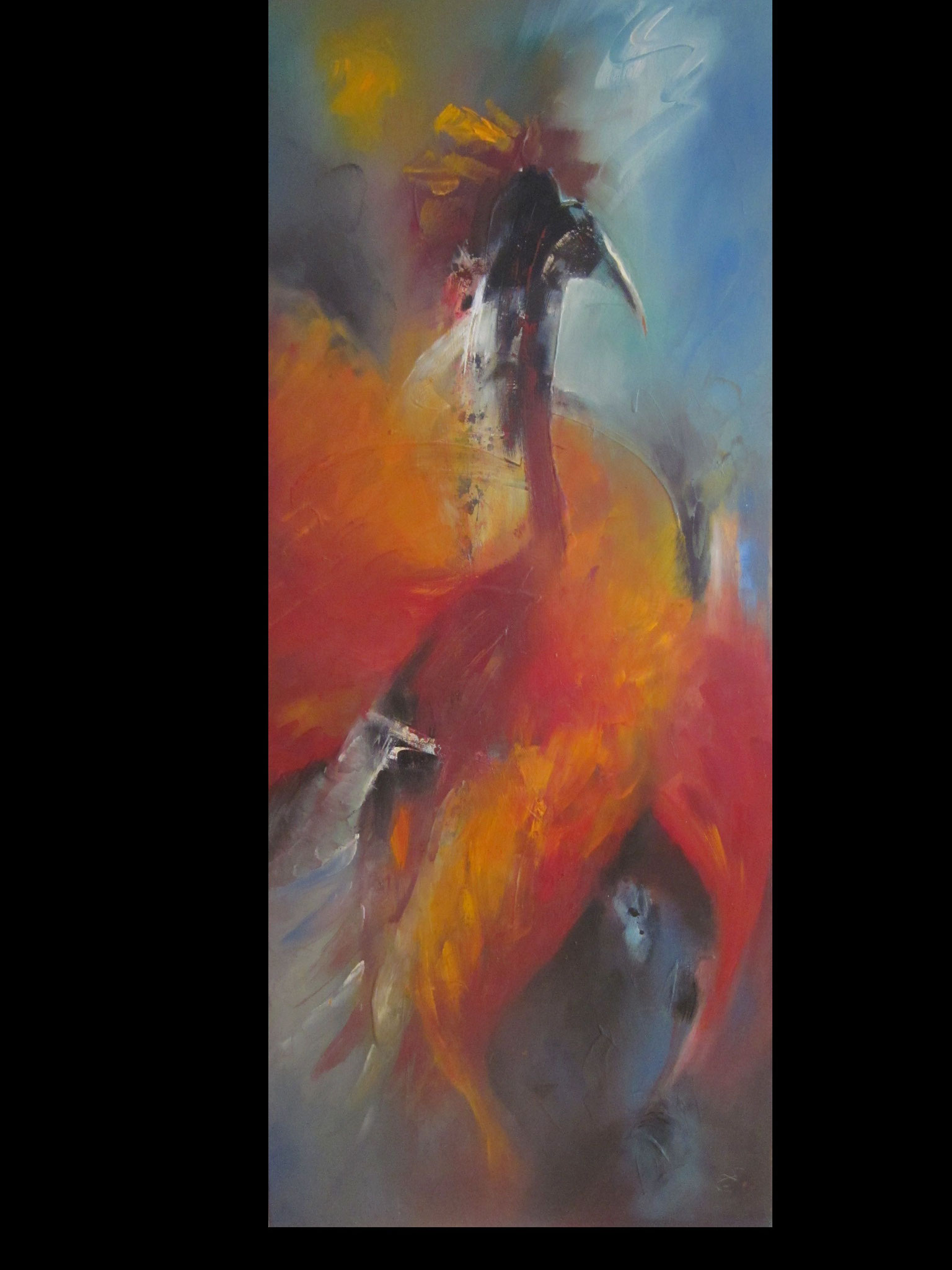 Nr. 34    Spirit of a Bird 60 x 140