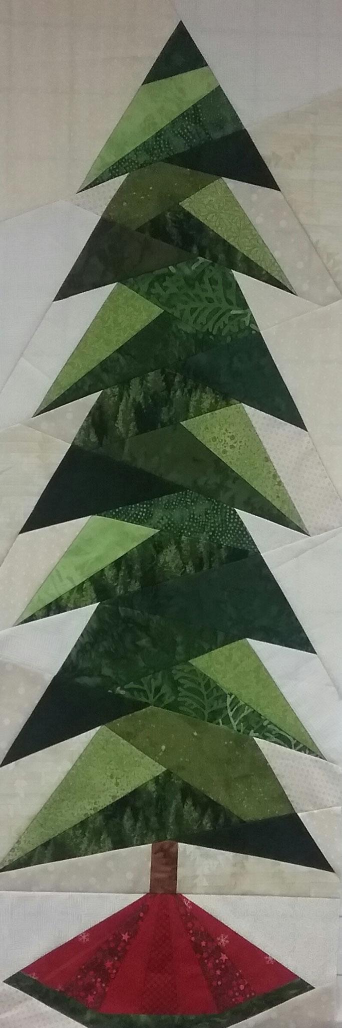 A little bit shorter tall tree  - Bernhild Schröder 2016, Anleitung von Cindi Edgerton
