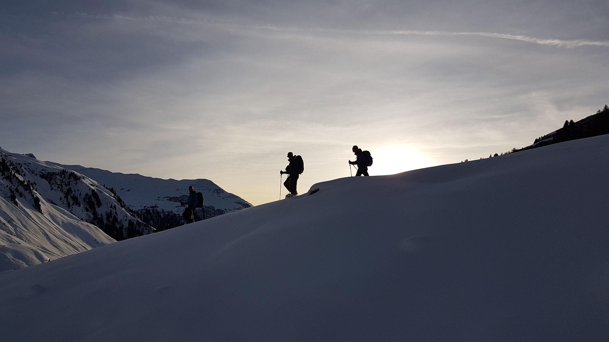 Bleibende Schneeschuhtouren