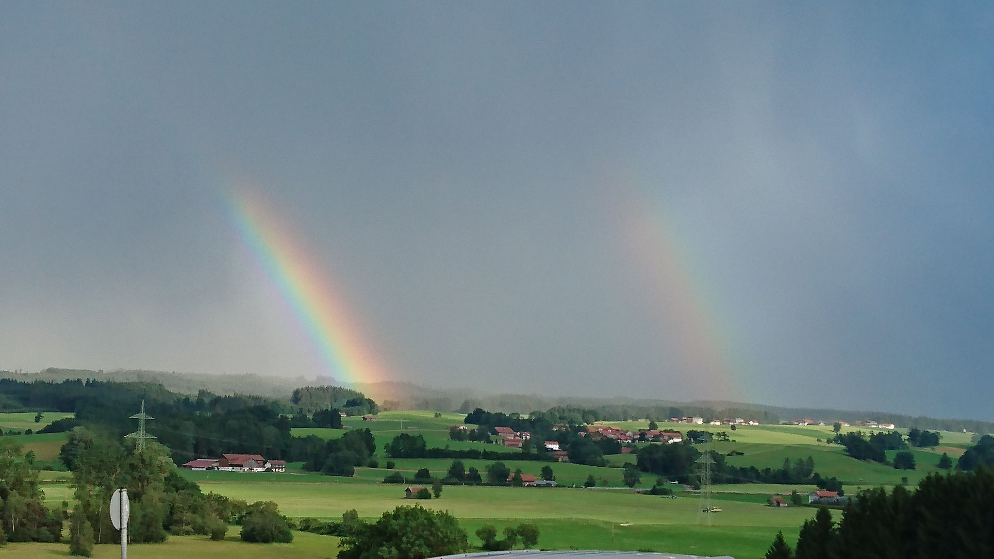 Regenbogen-Schauspiel