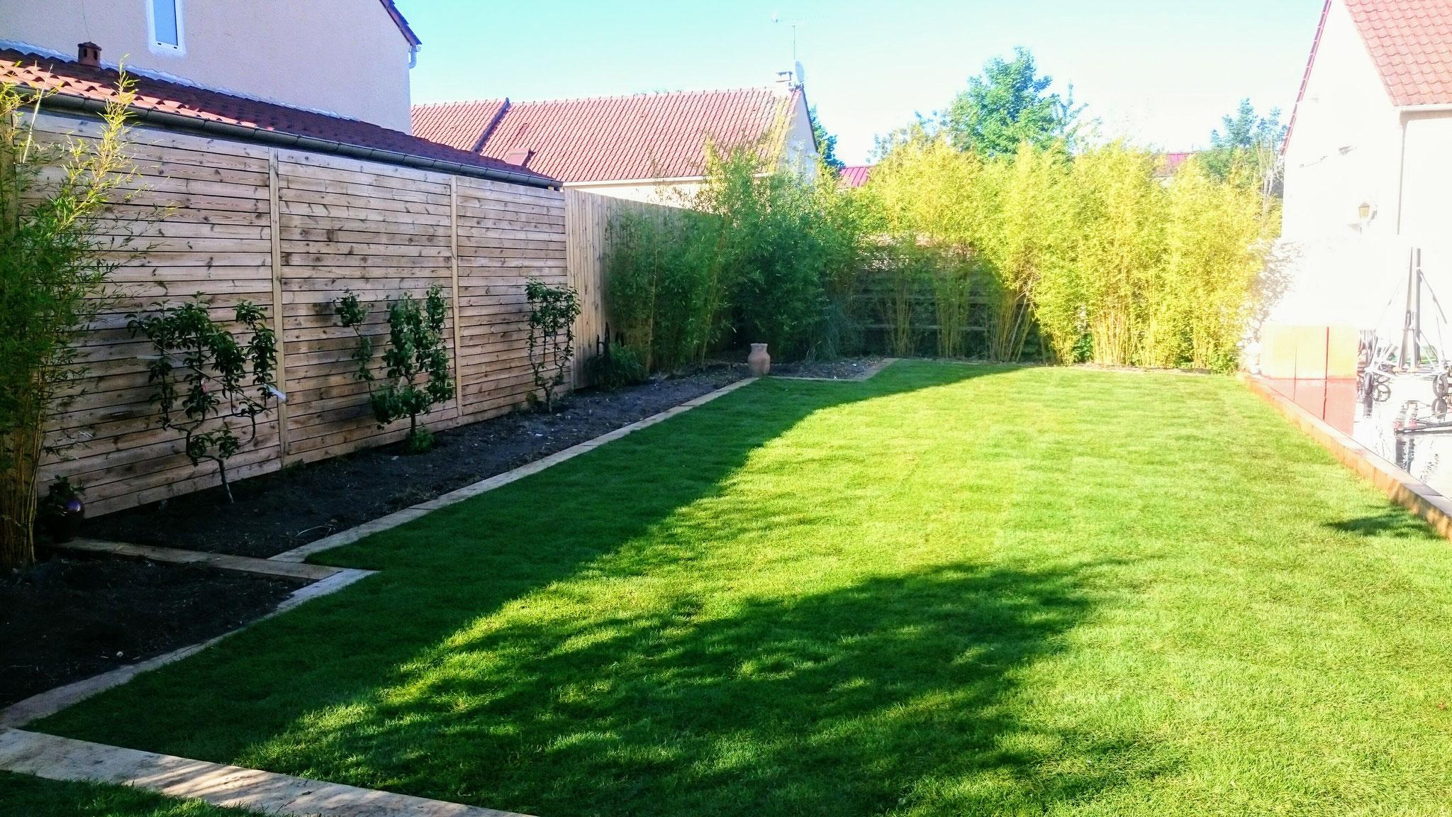 Les Green - Jardin Après