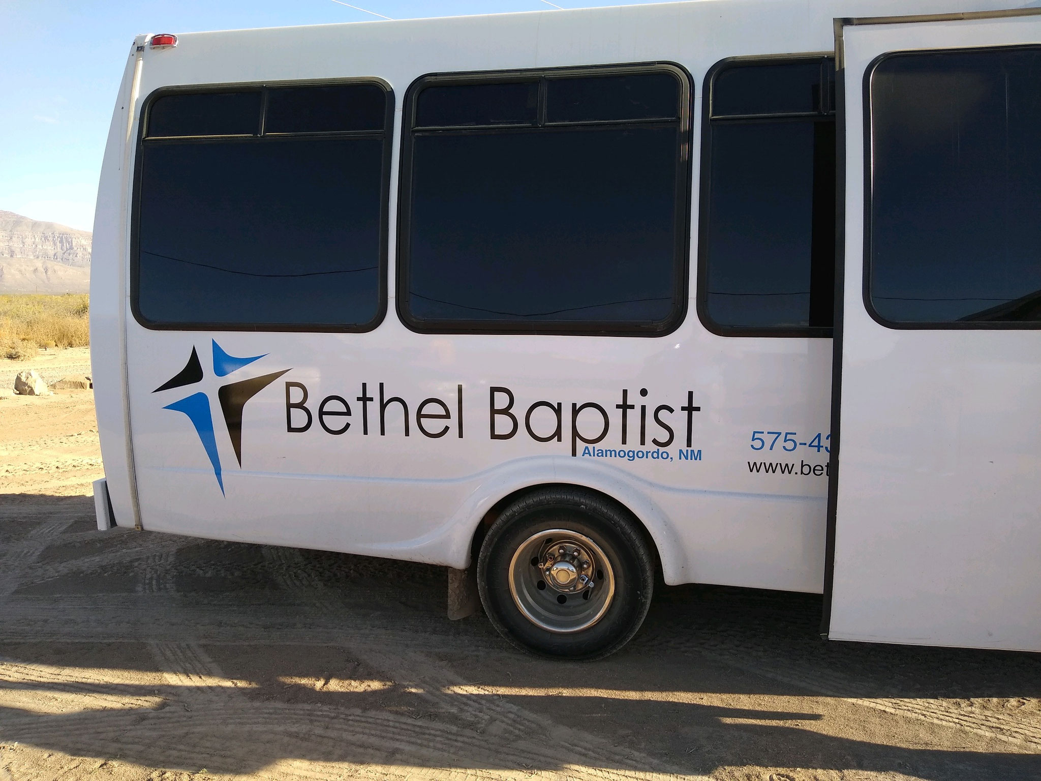 Alexis spoke to the Bethel Women's Group and a couple months later they came out to deliver donations, have lunch, and tour the campus.