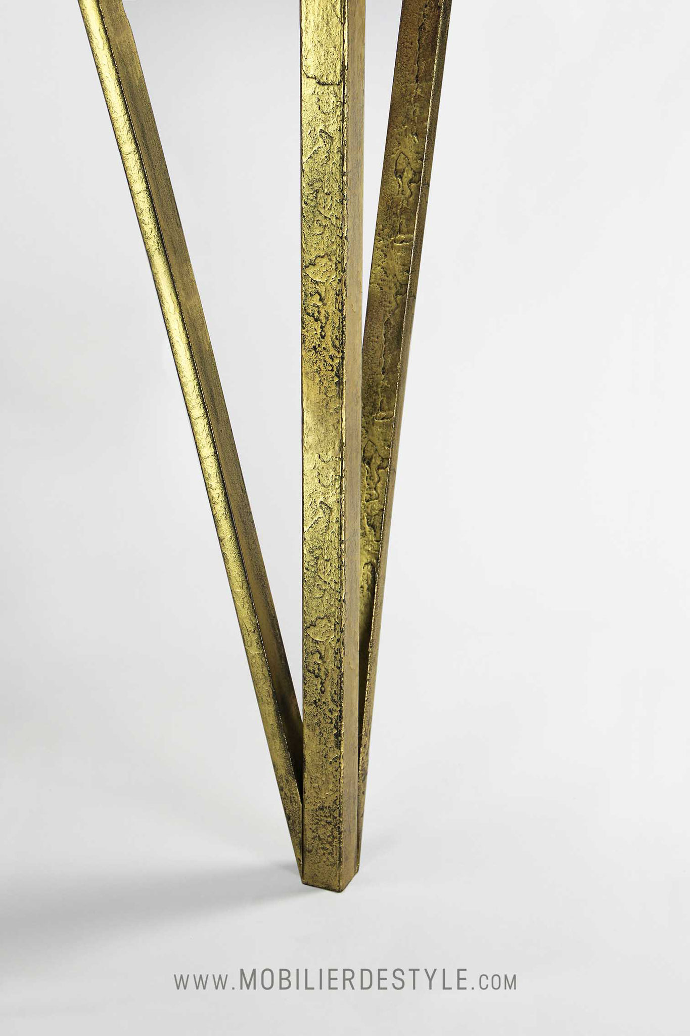 Finition 3 : Empire gold wax wrought iron