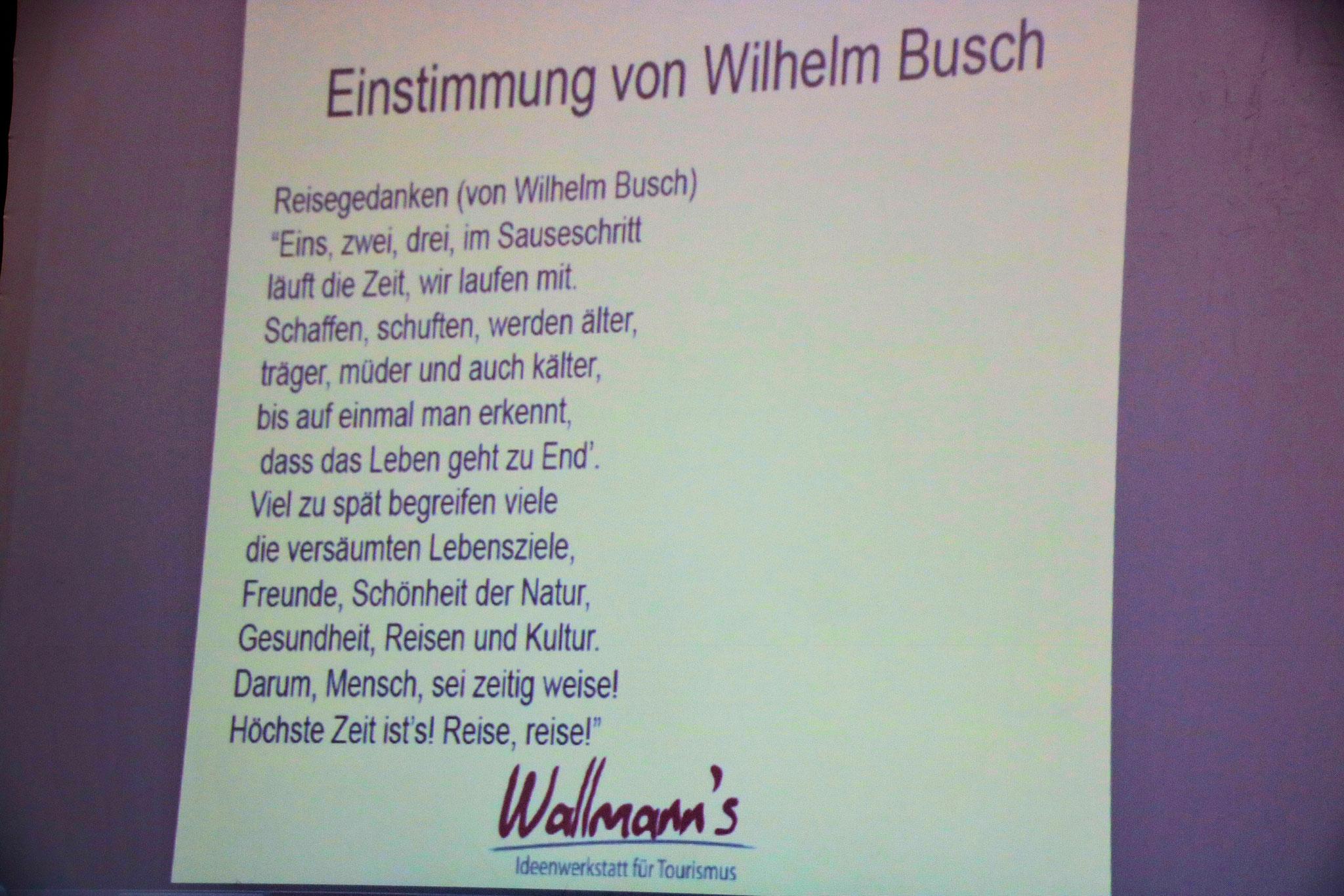 wilhelm busch - reise, reise - das braucht er mir nicht zweimal sagen -  © fenstergucker.com