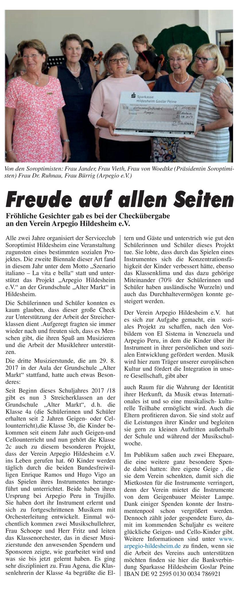 Oktober 2017 Stadtteilanzeiger Ost-Innenstädter Hildesheim