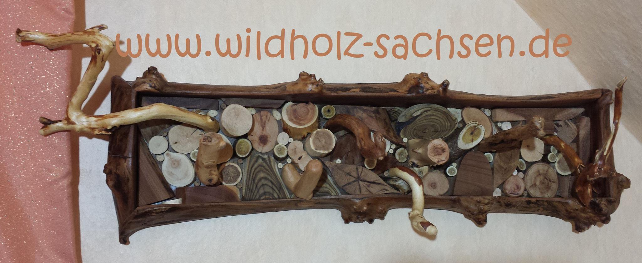 Kleiderhaken - Holzpuzzle
