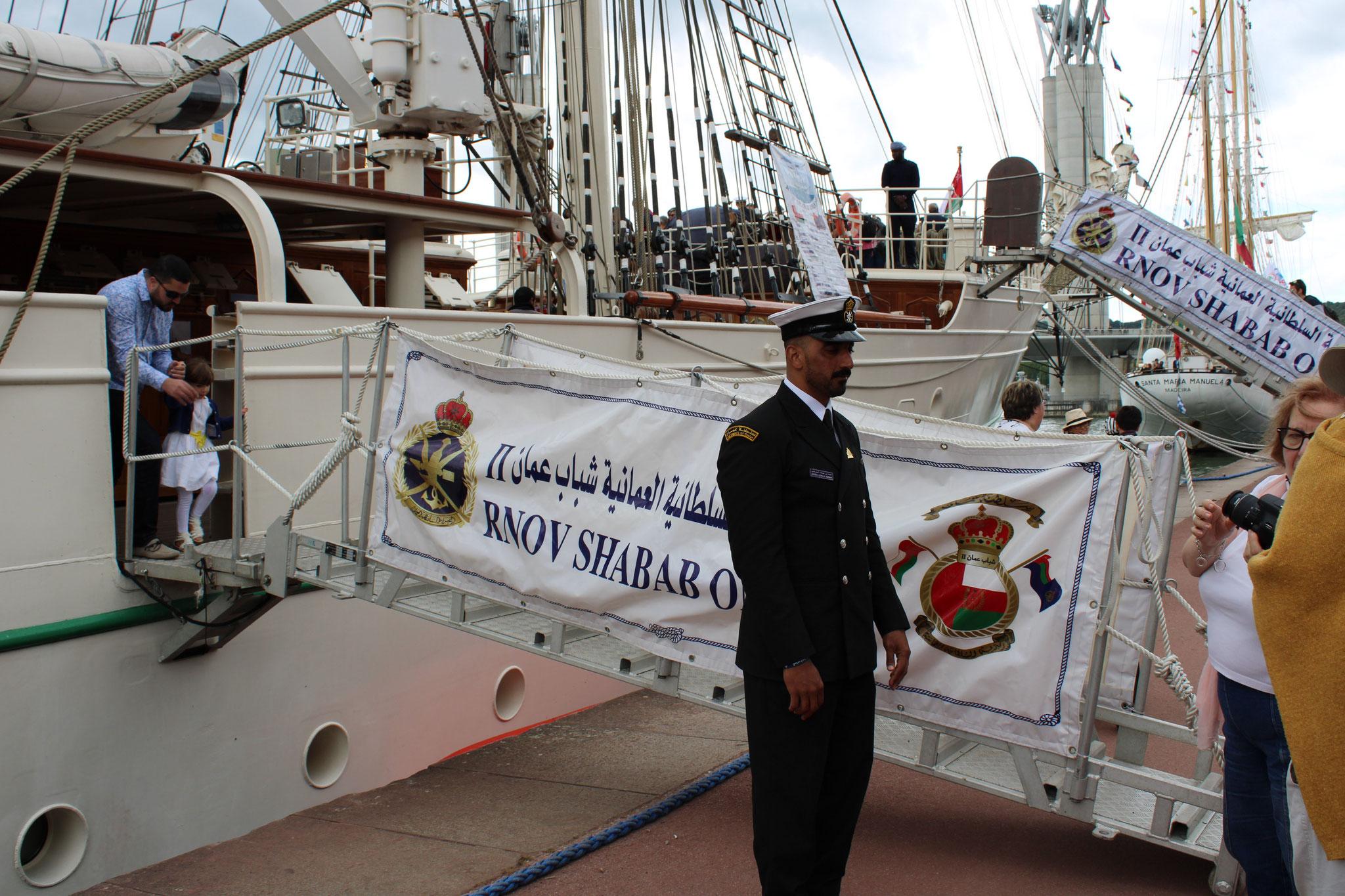 Shabab Oman II -Royal navy du sultanat d'Oman