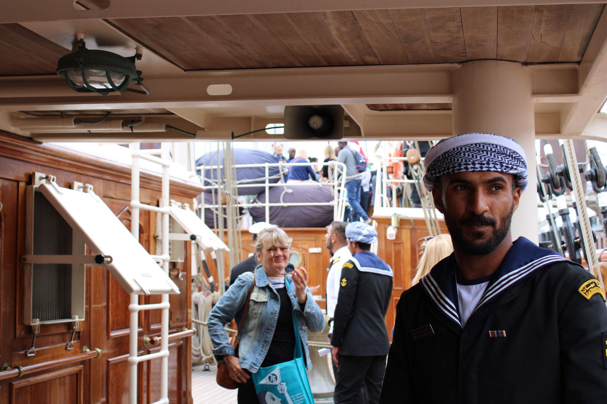 Shabab Oman II - Un des marins