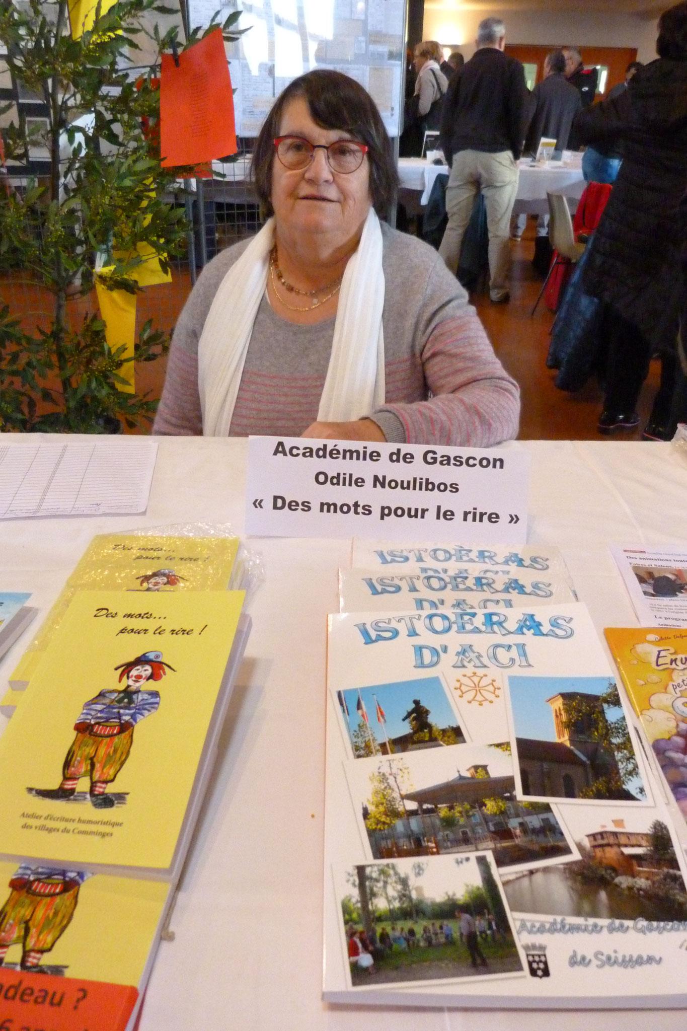 Odile Noulibos pour l'asso. organisatrice et l'Académie des Gascons