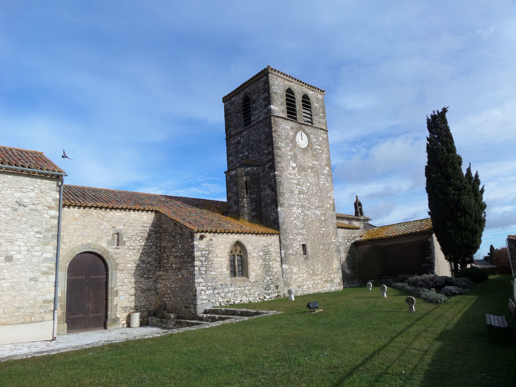 l'église et le prieuré d'Aragon (11)