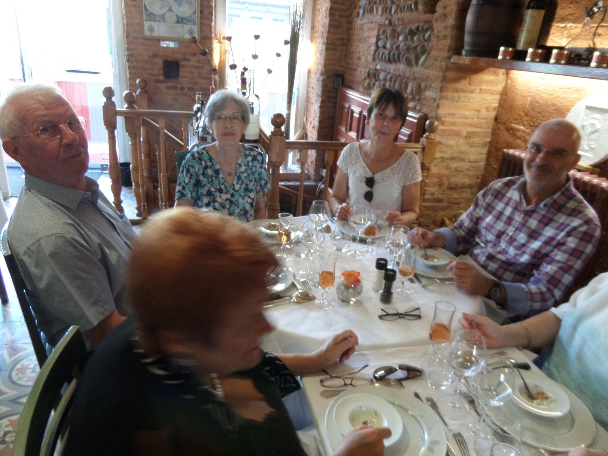 """Découverte du véritable cassoulet toulousain au restaurant """"le Colombier"""""""