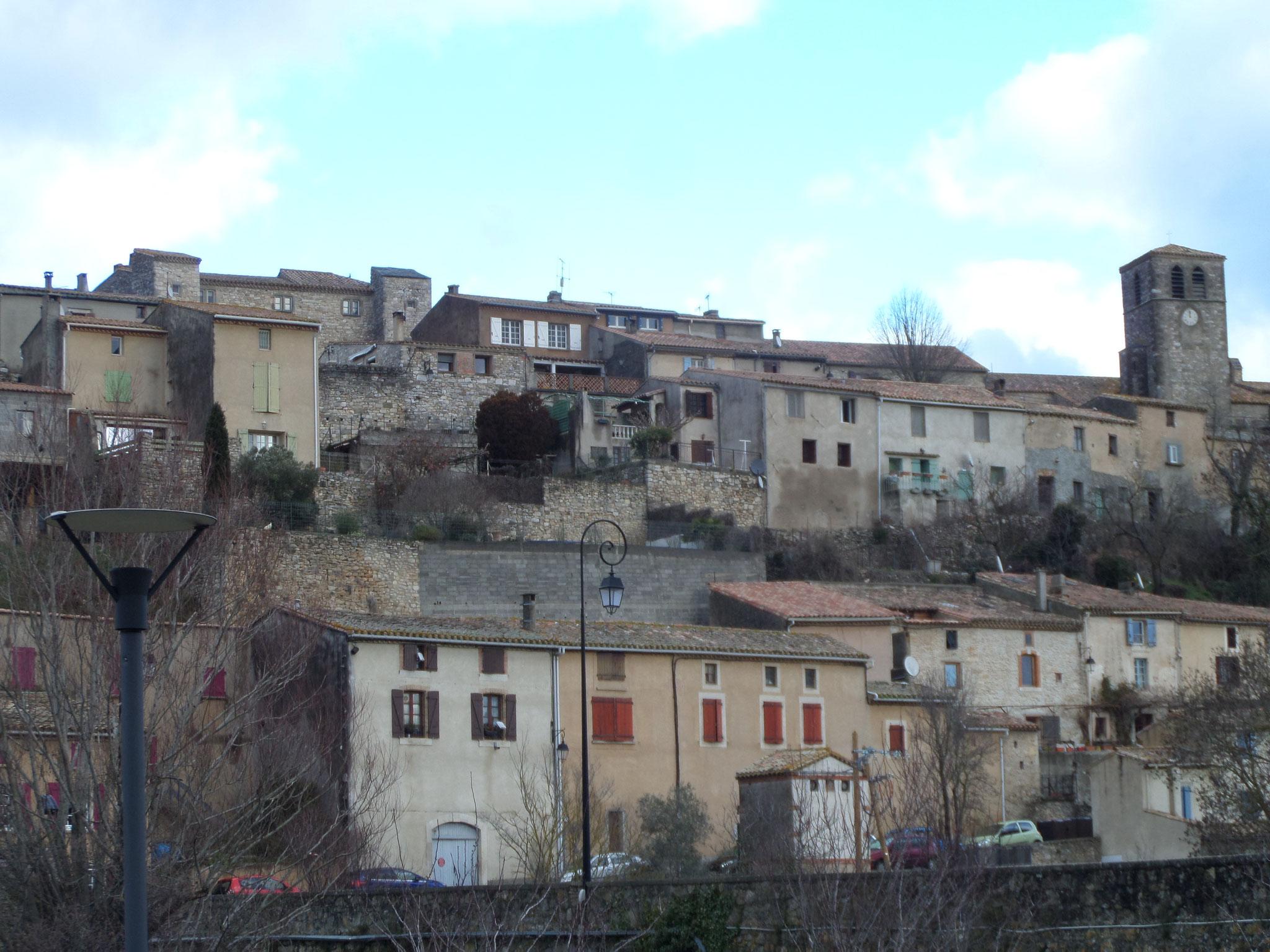 Aragon le village perché du Cabardès