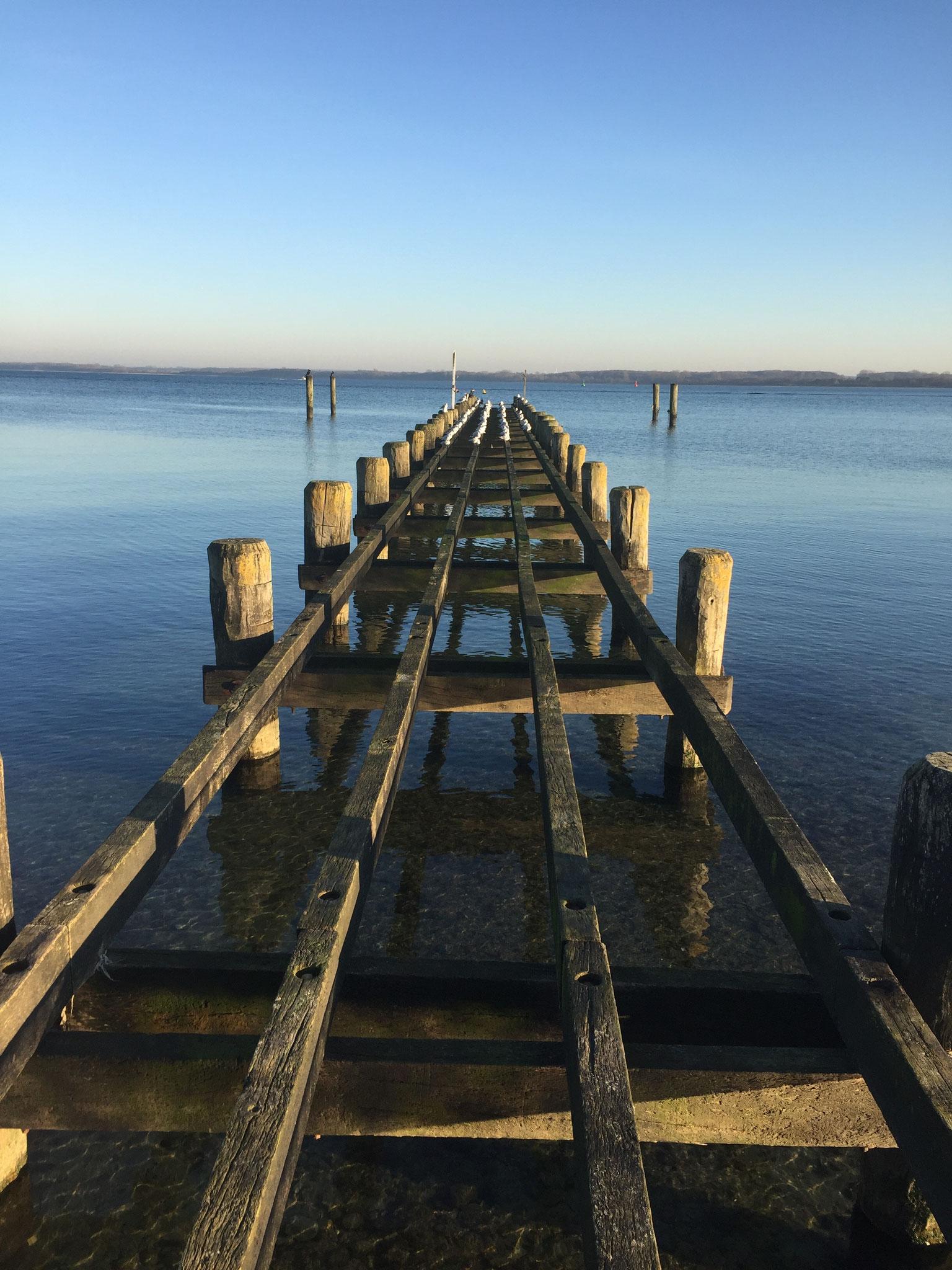 Spaziergang an der Ostsee von der Hermannshöhe bis Travemünde