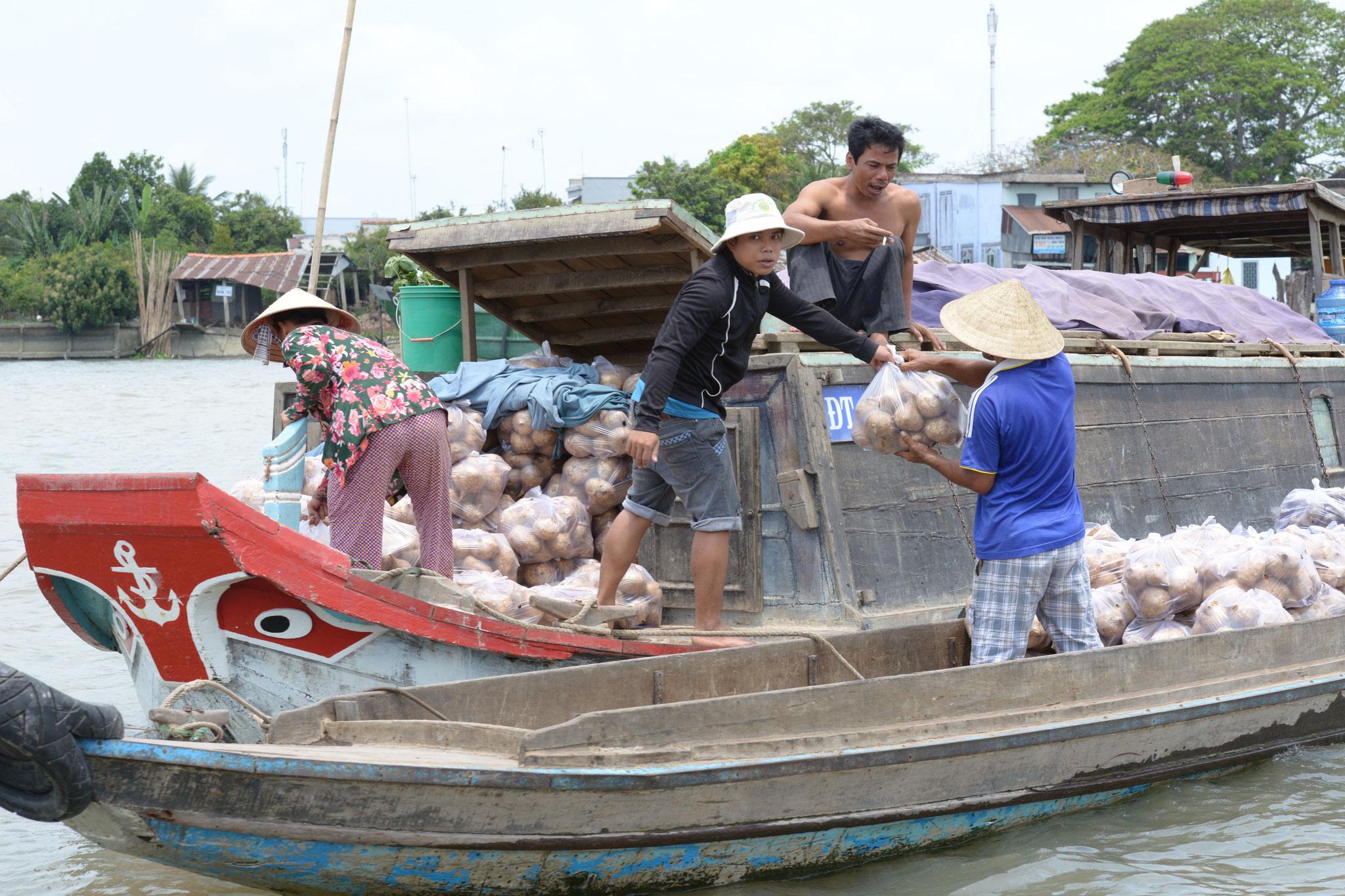 Der schwimmende Markt